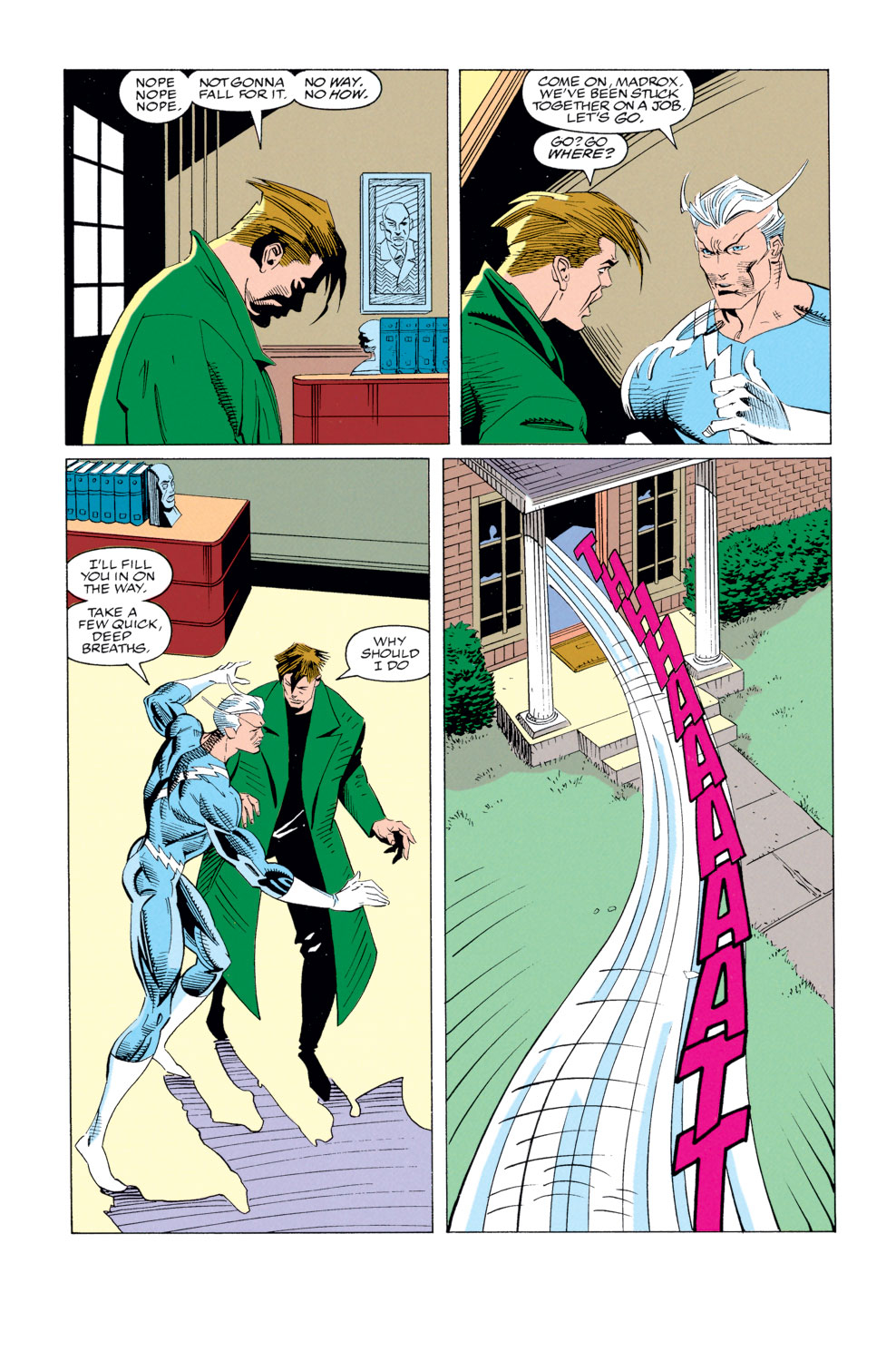 Read online X-Factor (1986) comic -  Issue #79 - 9
