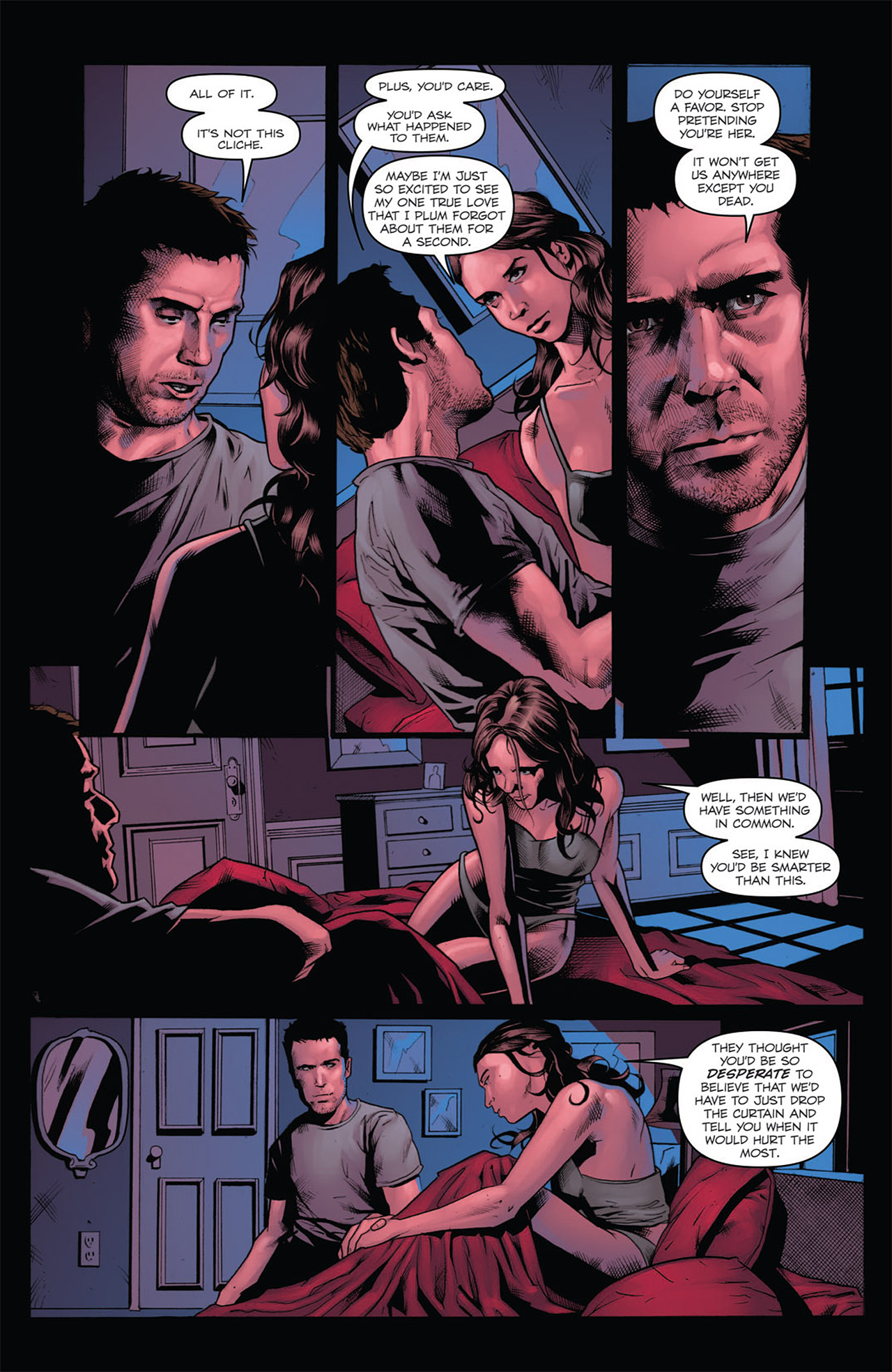 Read online Angel: After The Fall comic -  Issue #7 - 10