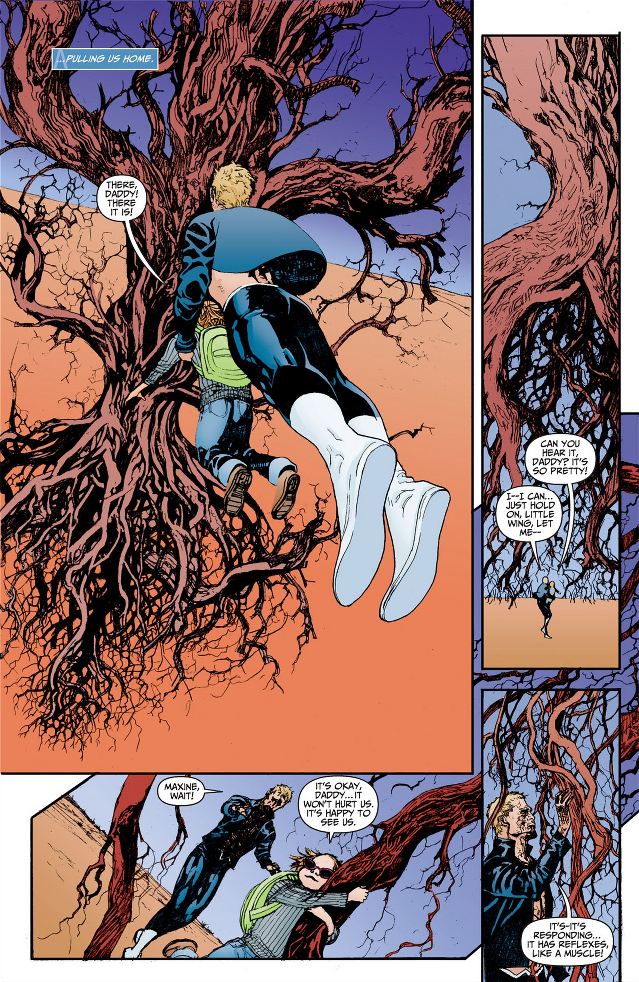 Read online Animal Man (2011) comic -  Issue #2 - 17
