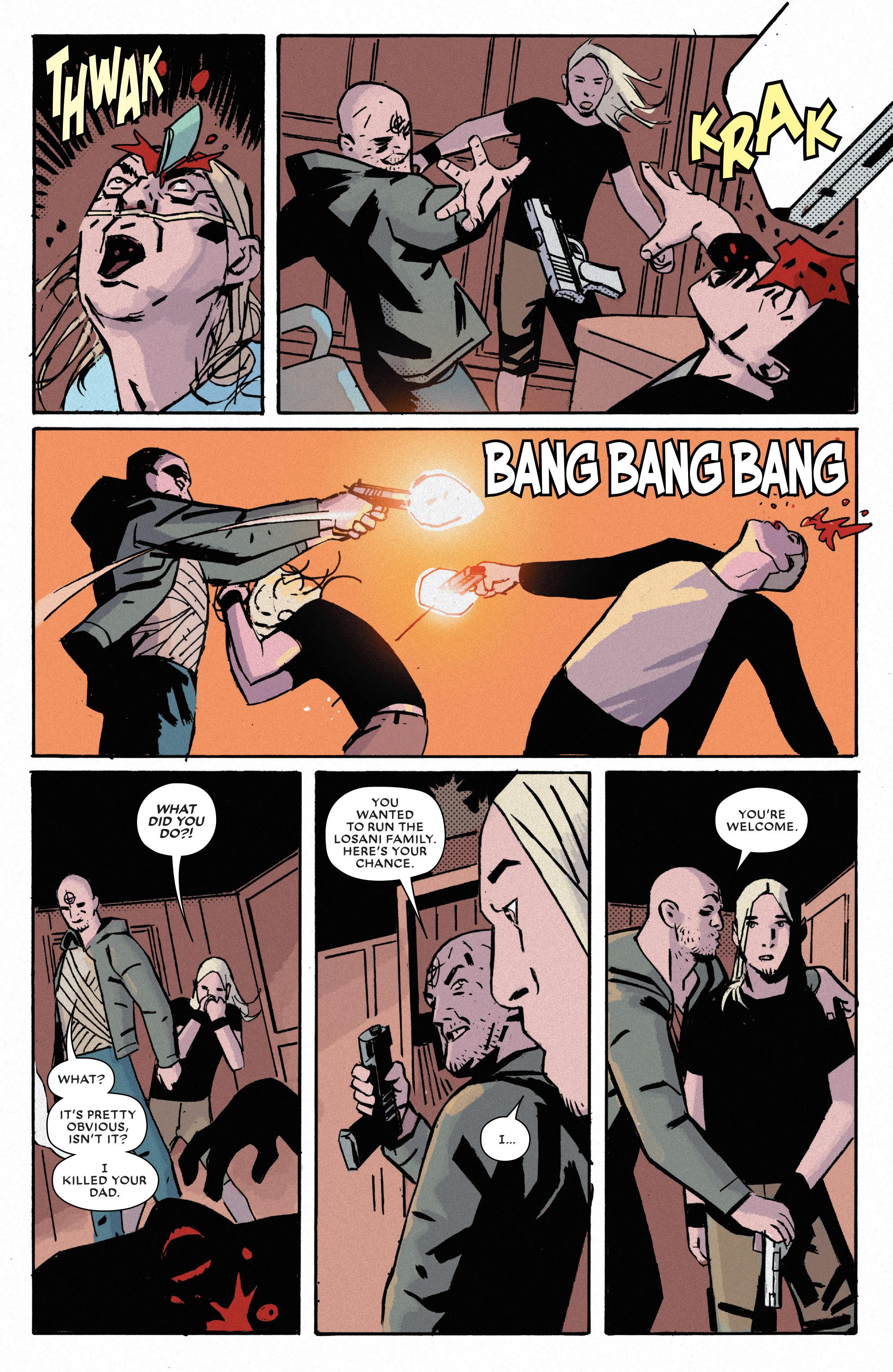 Read online Bullseye comic -  Issue #5 - 20