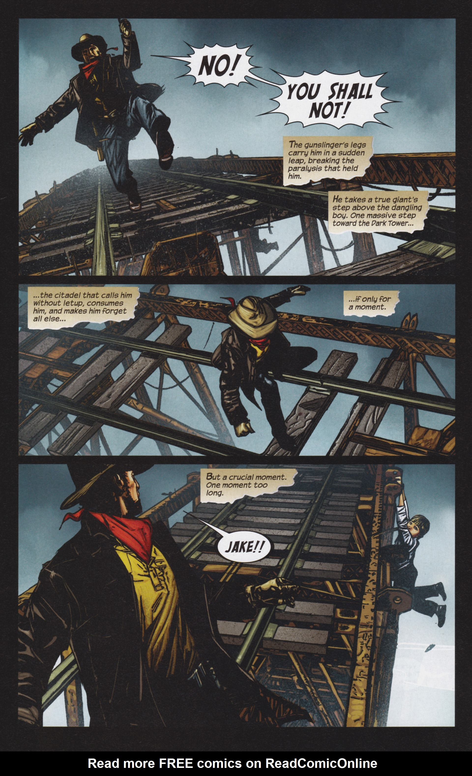 Read online Dark Tower: The Gunslinger - The Man in Black comic -  Issue #4 - 23