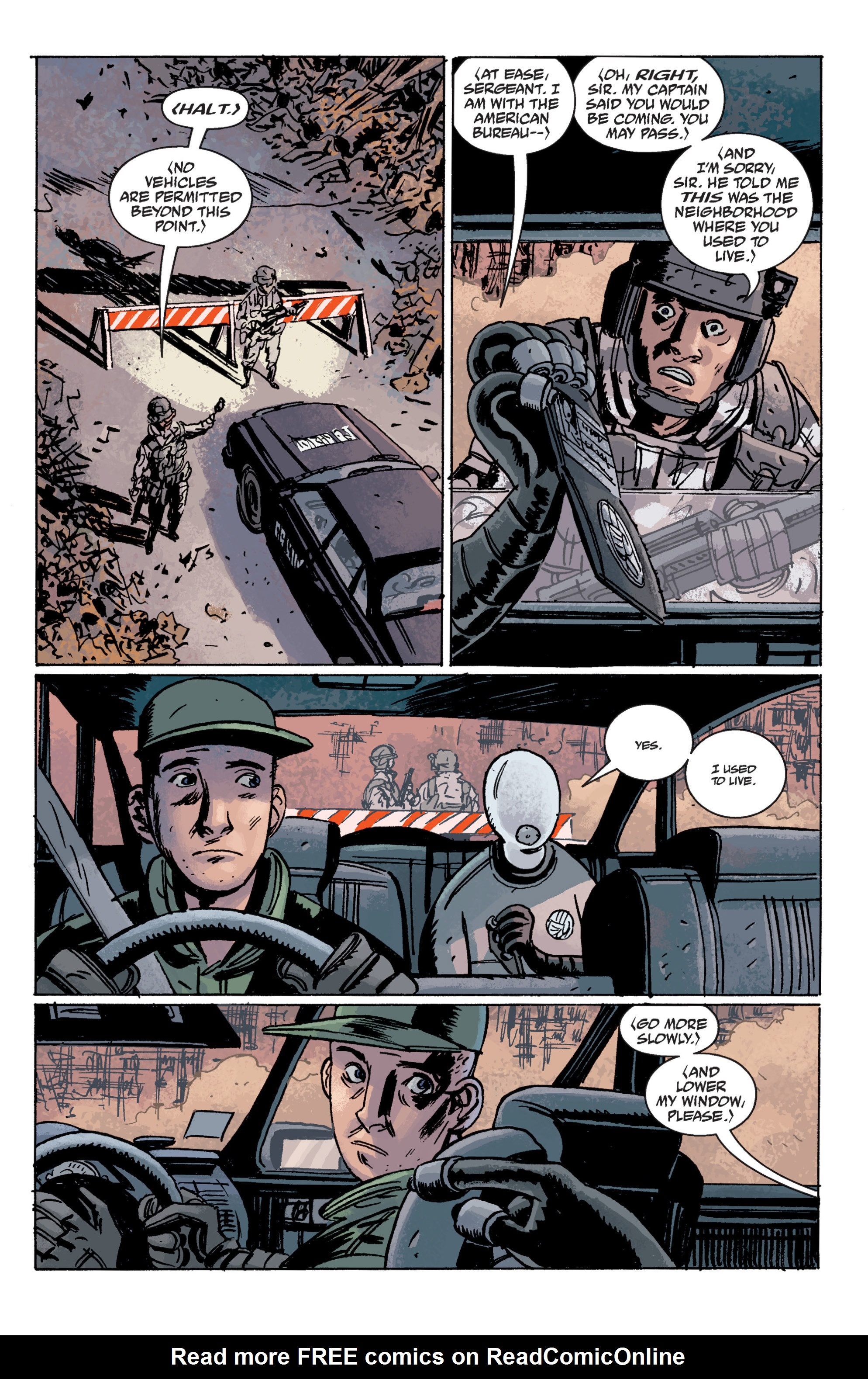 Read online B.P.R.D. (2003) comic -  Issue # TPB 10 - 127