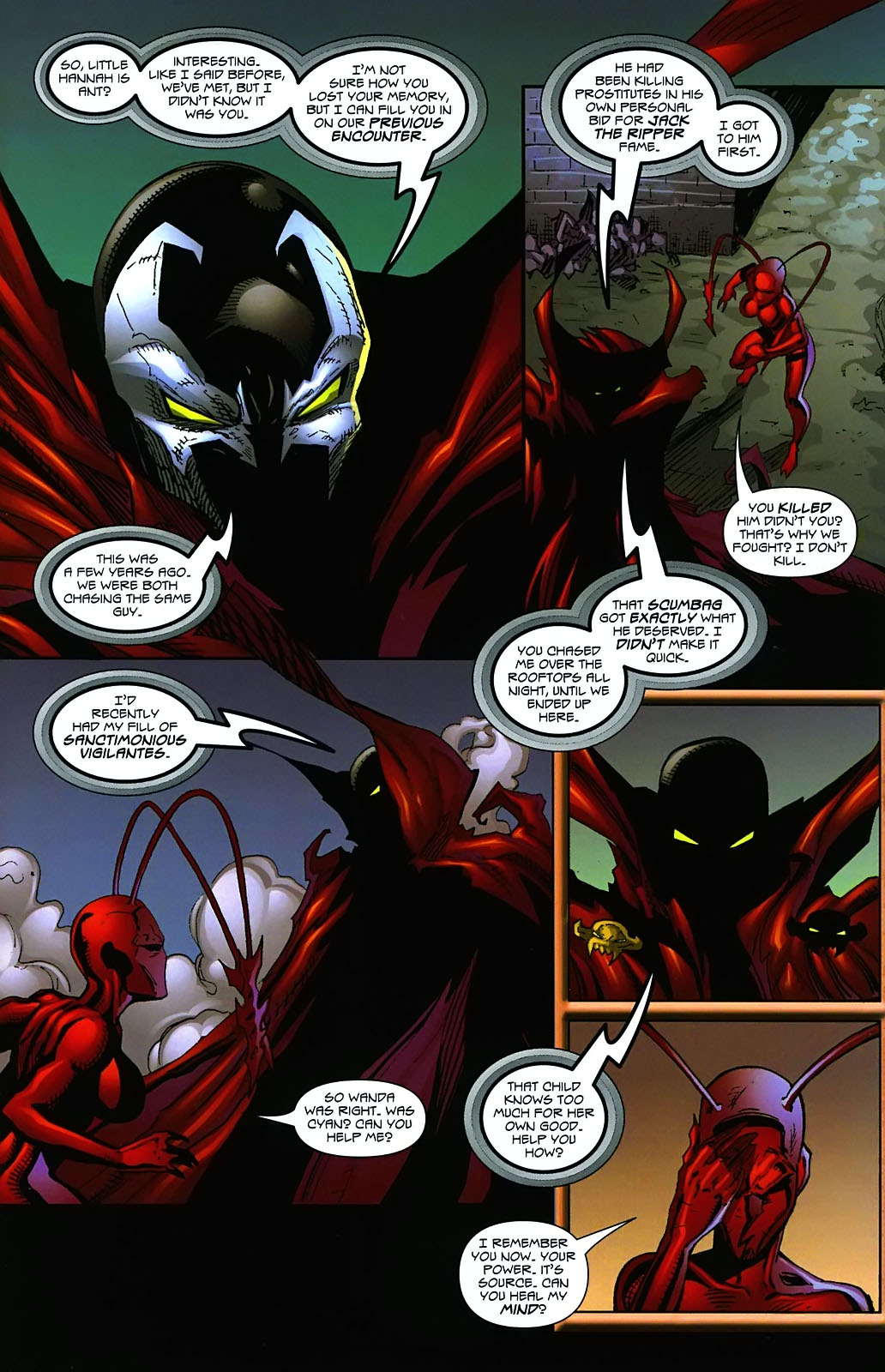 Read online Ant comic -  Issue #3 - 19
