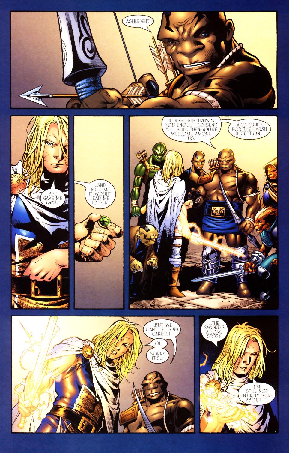 Read online Scion comic -  Issue #10 - 5