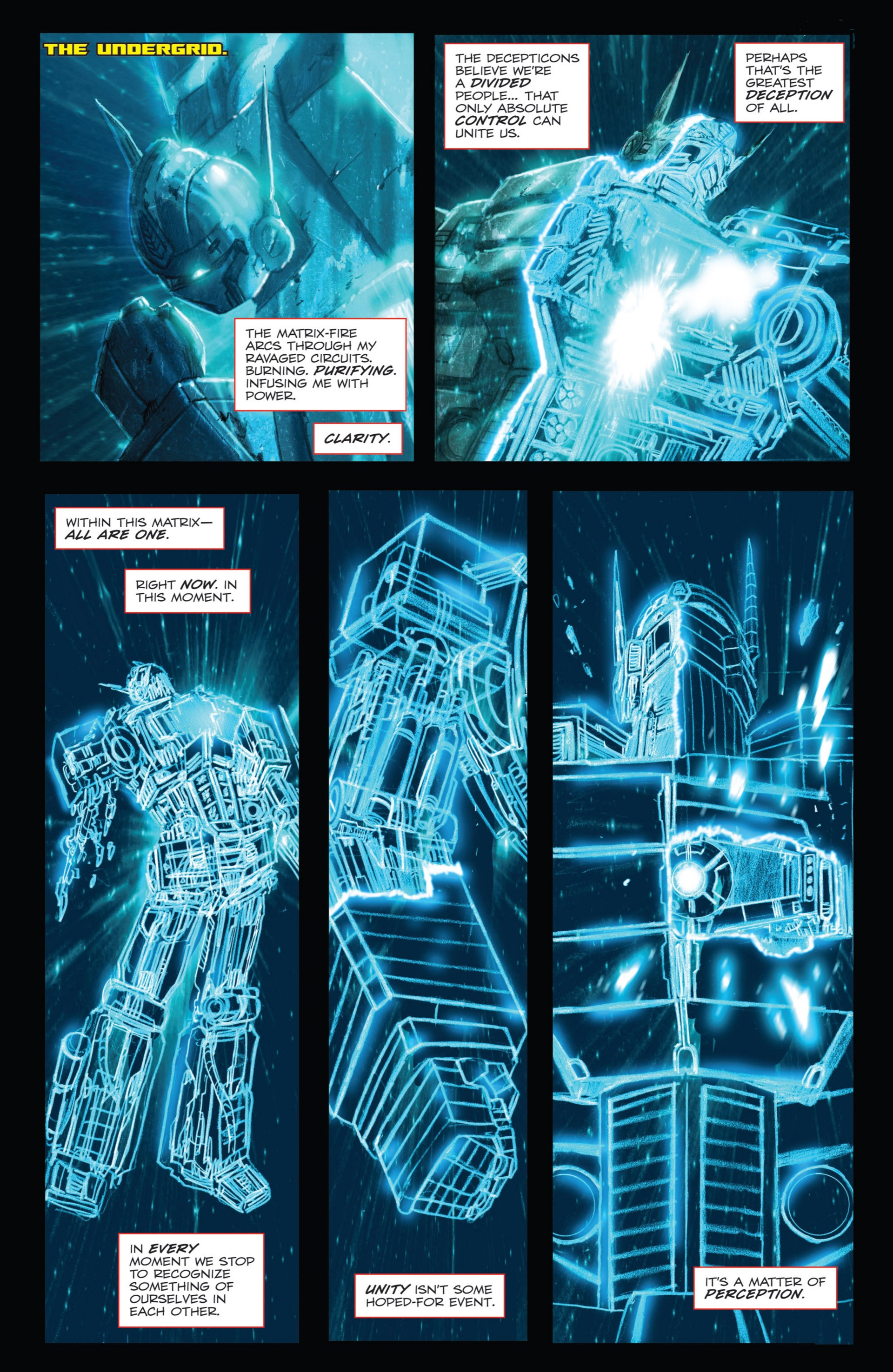 Read online Transformers: Autocracy comic -  Issue # Full - 86
