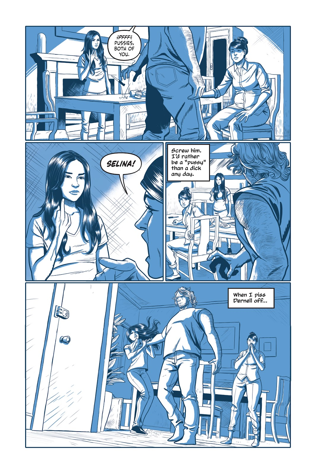 Read online Under the Moon: A Catwoman Tale comic -  Issue # TPB (Part 1) - 20