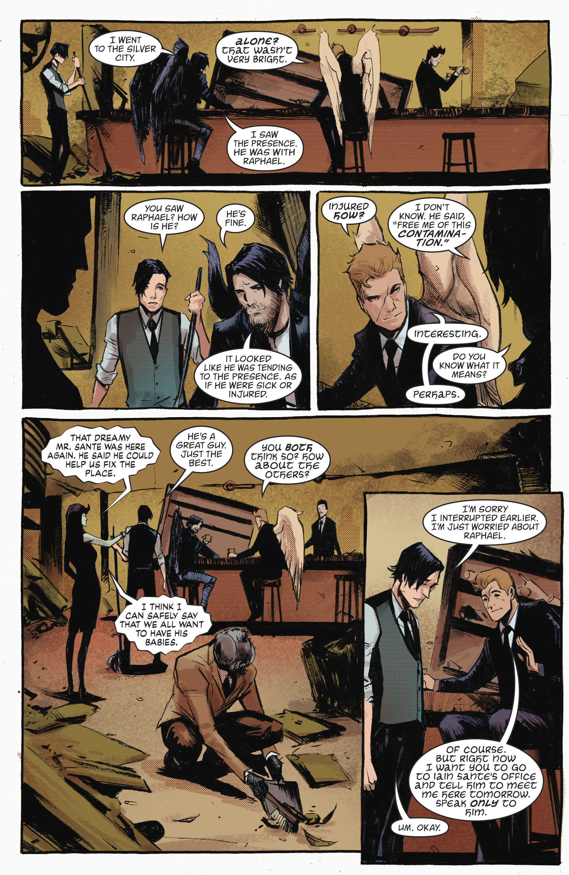 Read online Lucifer (2016) comic -  Issue #18 - 14