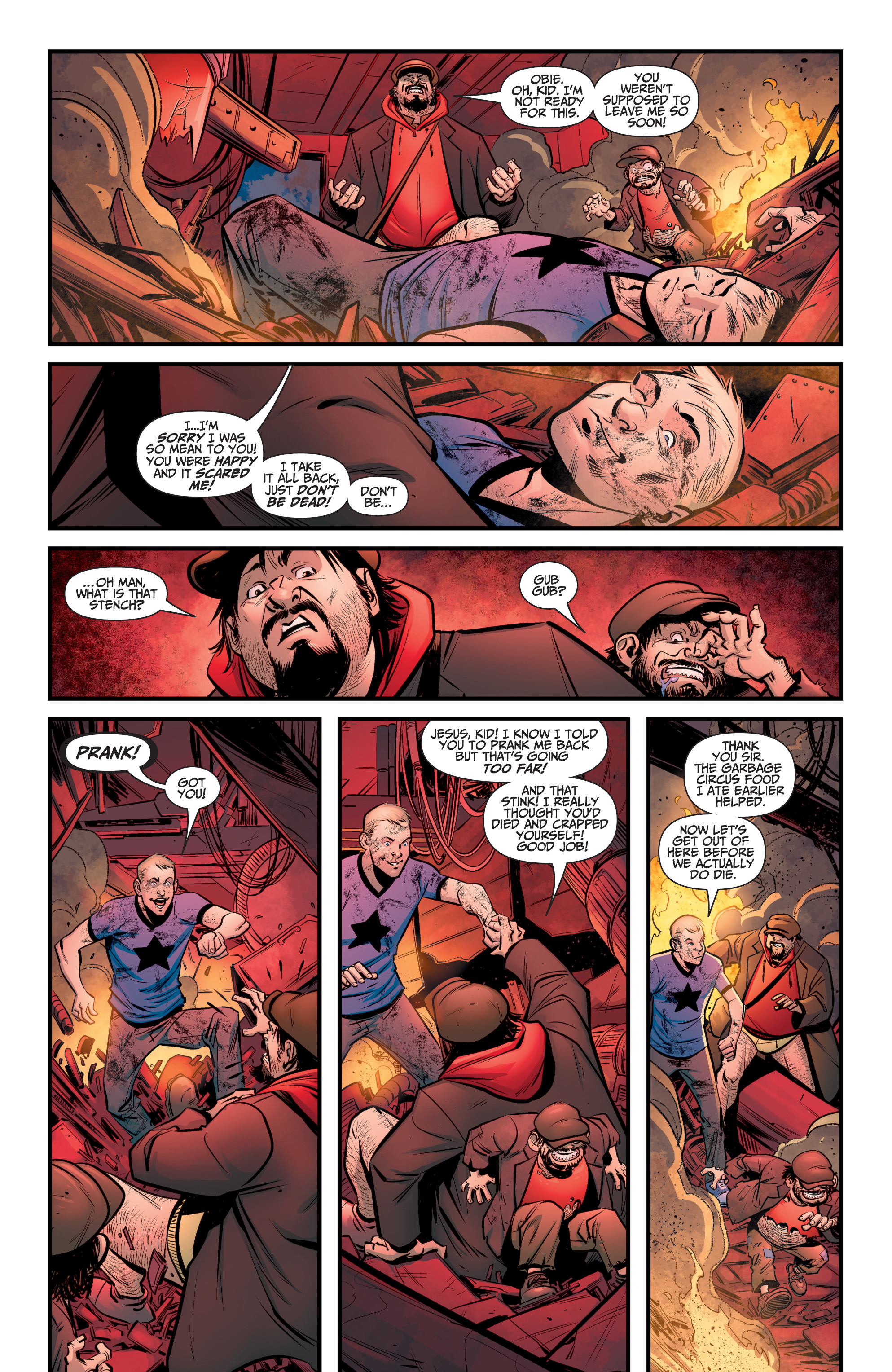Read online A&A: The Adventures of Archer & Armstrong comic -  Issue #8 - 15