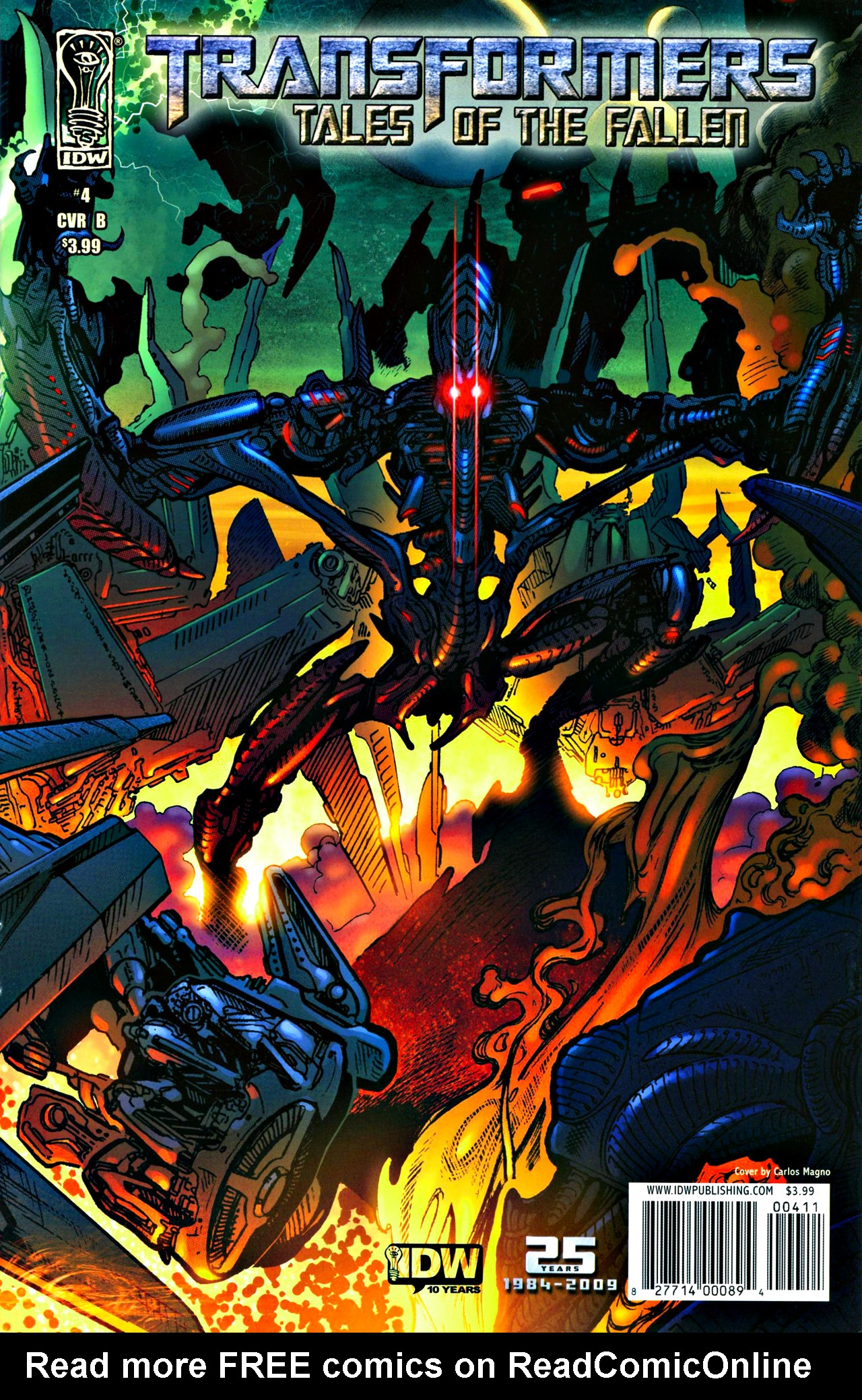 Read online Transformers: Tales of The Fallen comic -  Issue #4 - 1