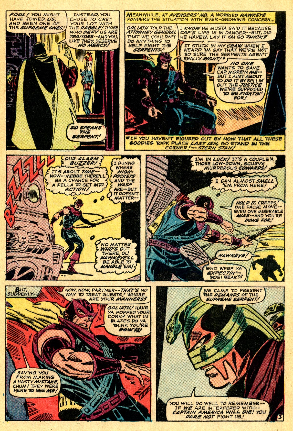 The Avengers (1963) 33 Page 3