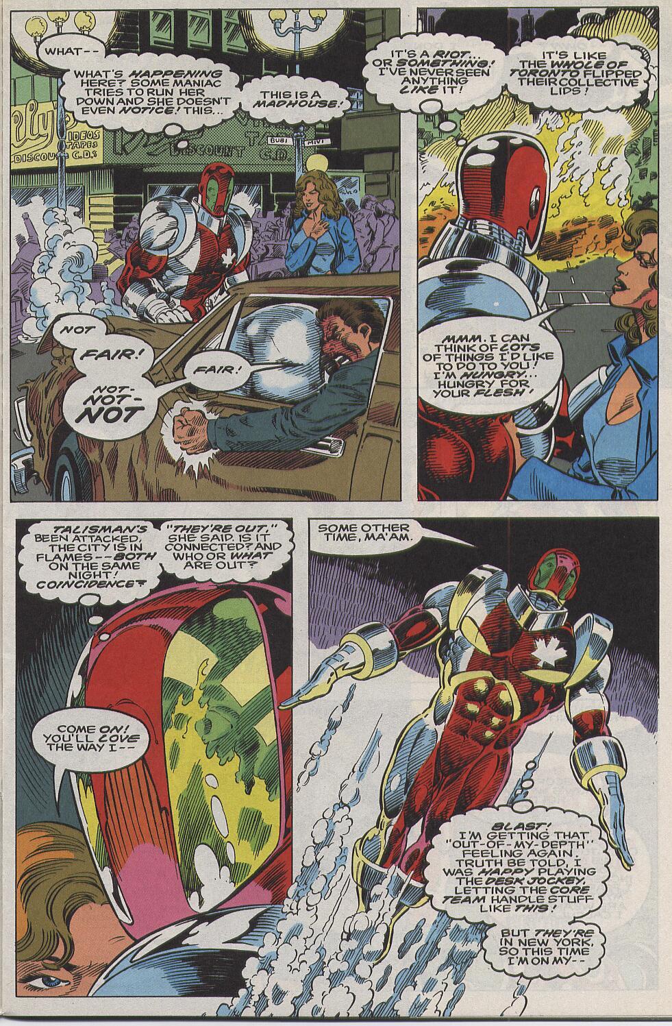 Read online Alpha Flight (1983) comic -  Issue #111 - 4