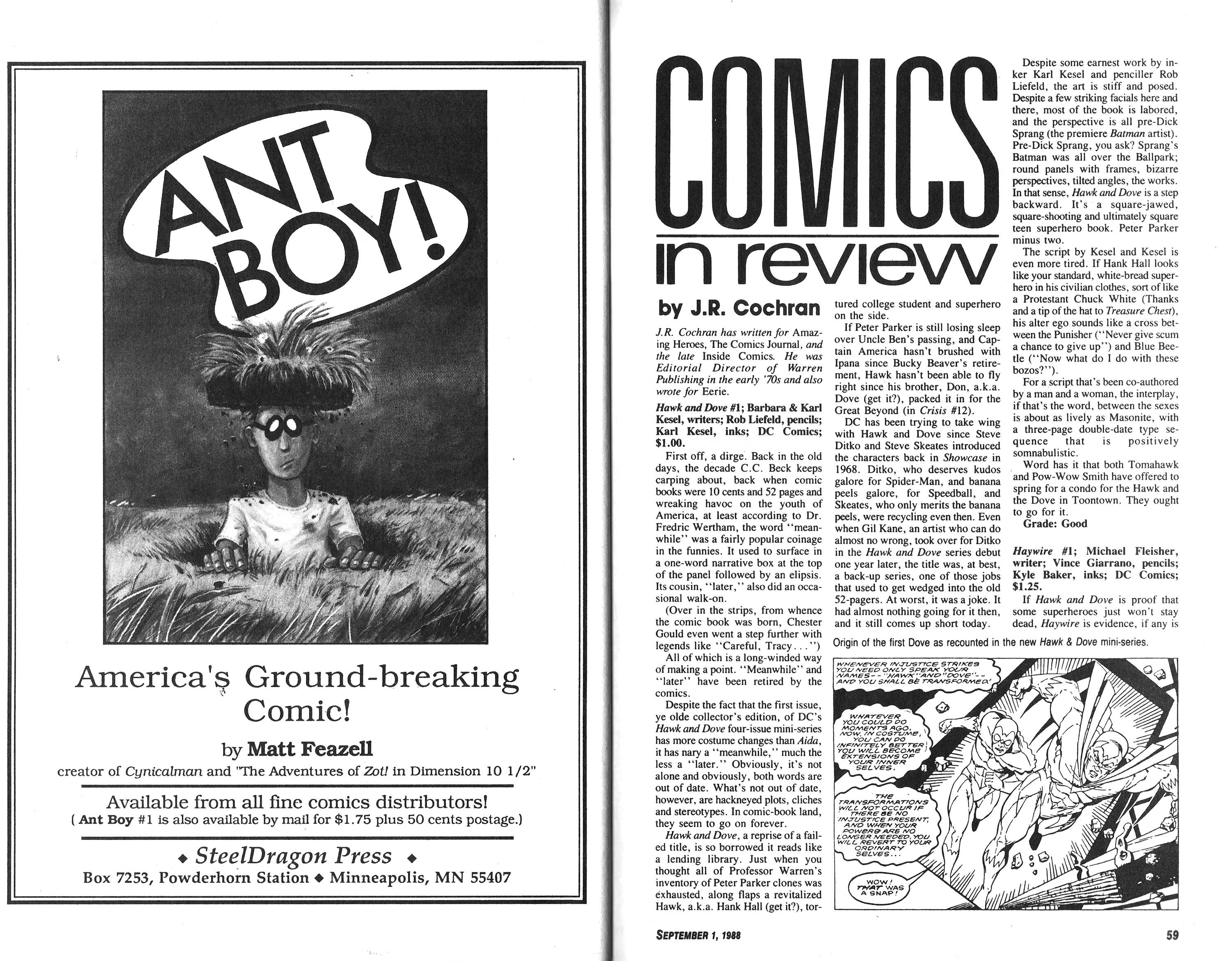 Read online Amazing Heroes comic -  Issue #148 - 30