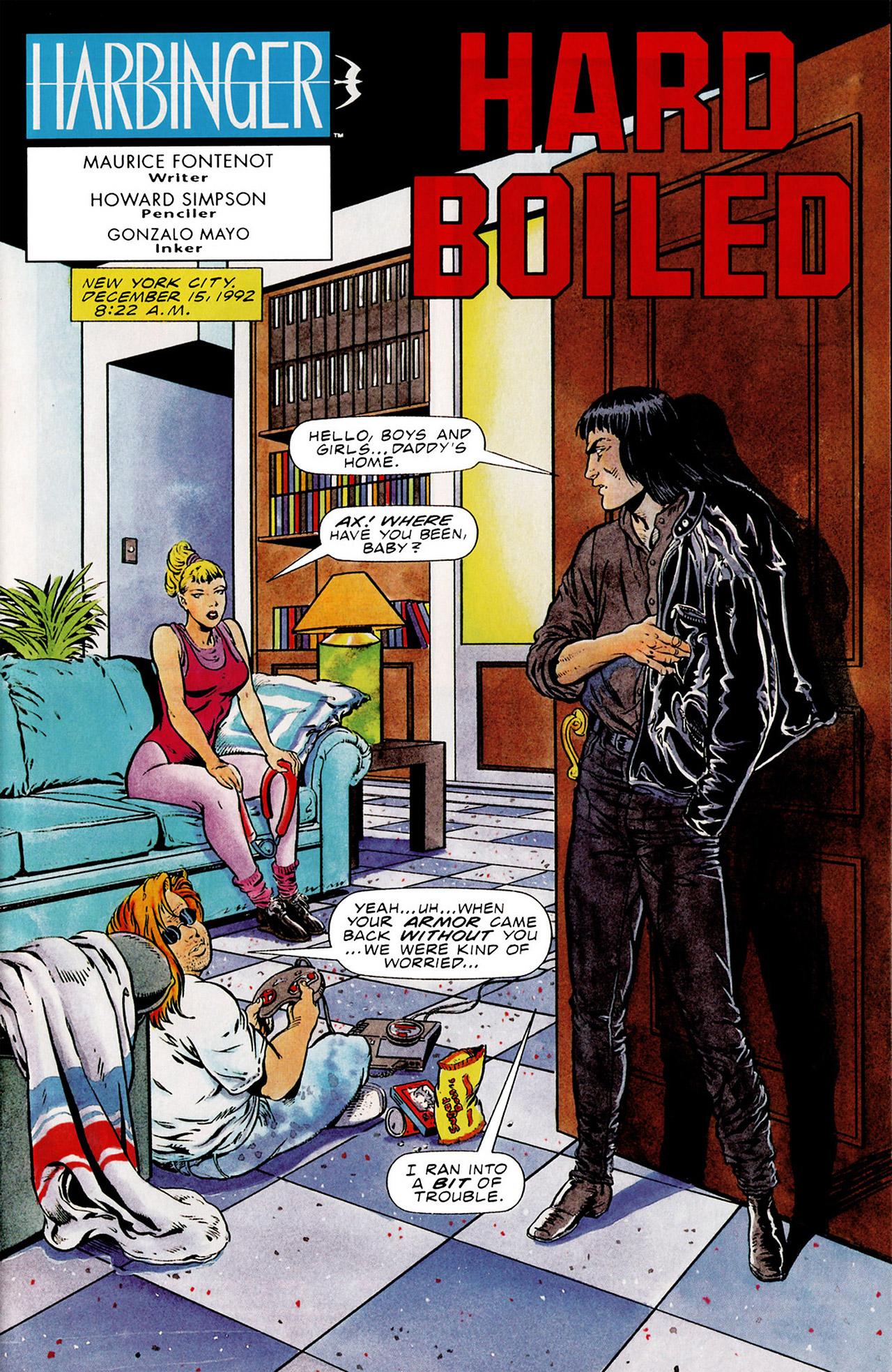 Read online Harbinger (1992) comic -  Issue #15 - 2
