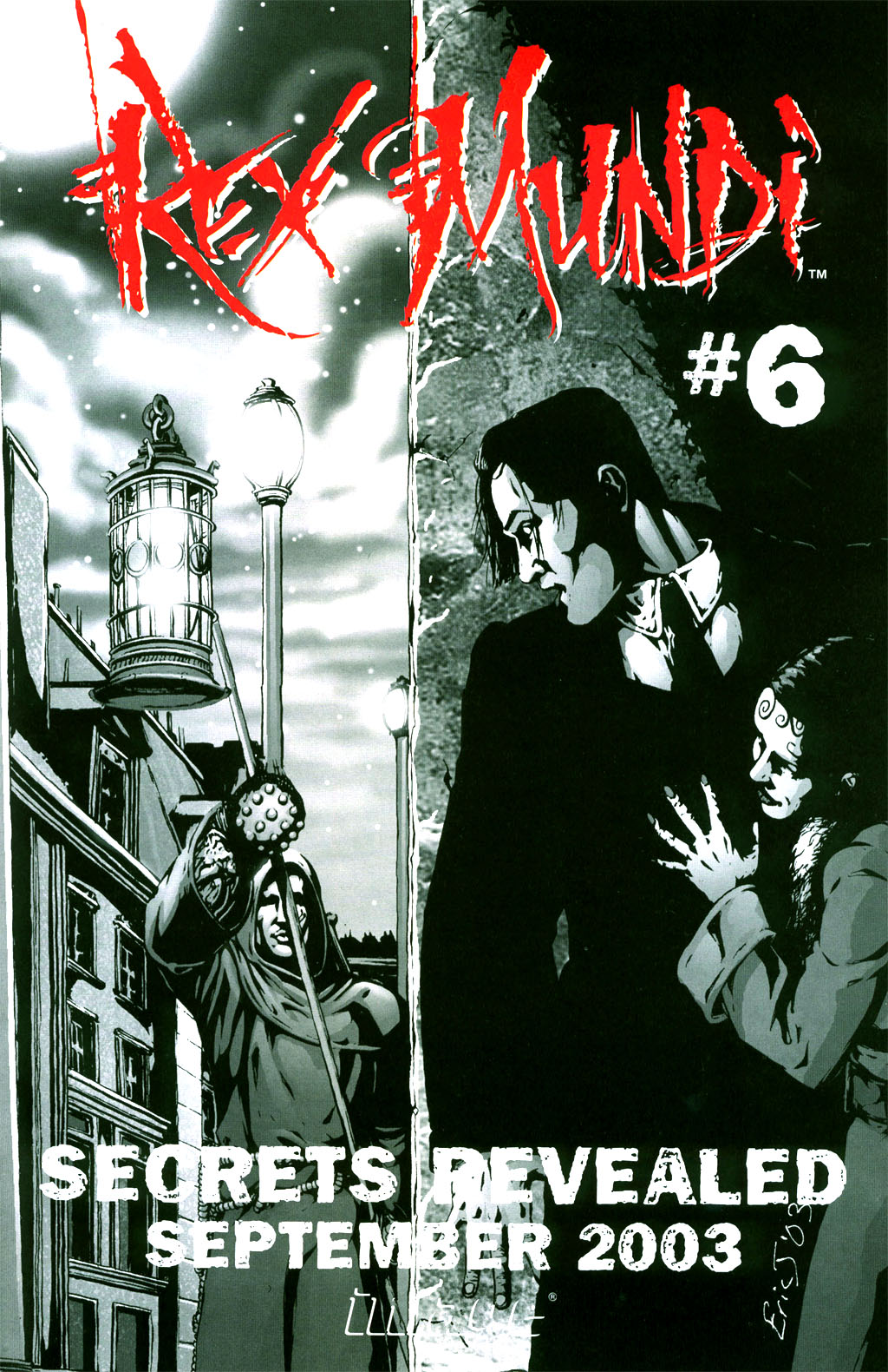 Read online Rex Mundi comic -  Issue #5 - 31