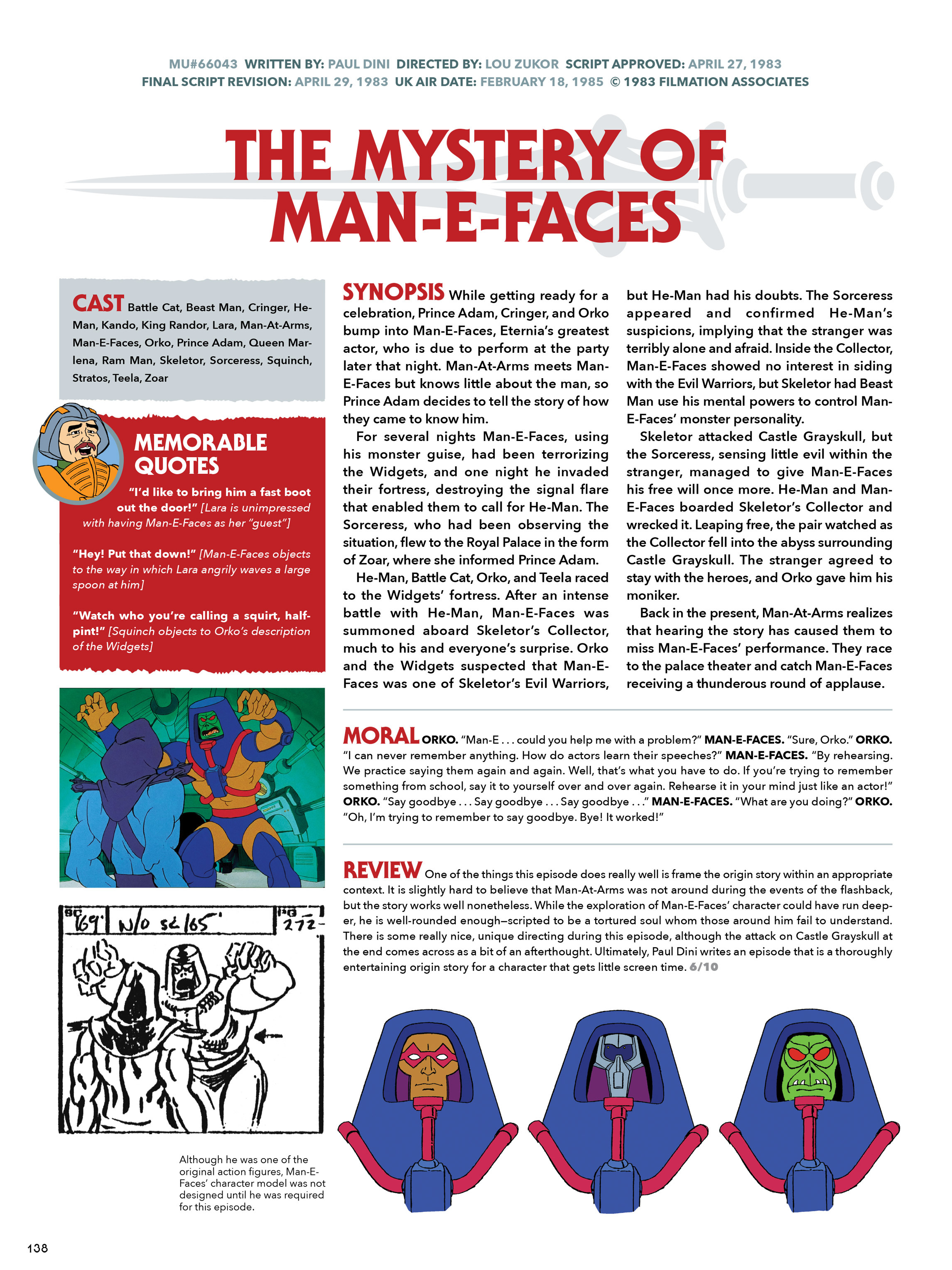 Read online He-Man and She-Ra: A Complete Guide to the Classic Animated Adventures comic -  Issue # TPB (Part 1) - 138