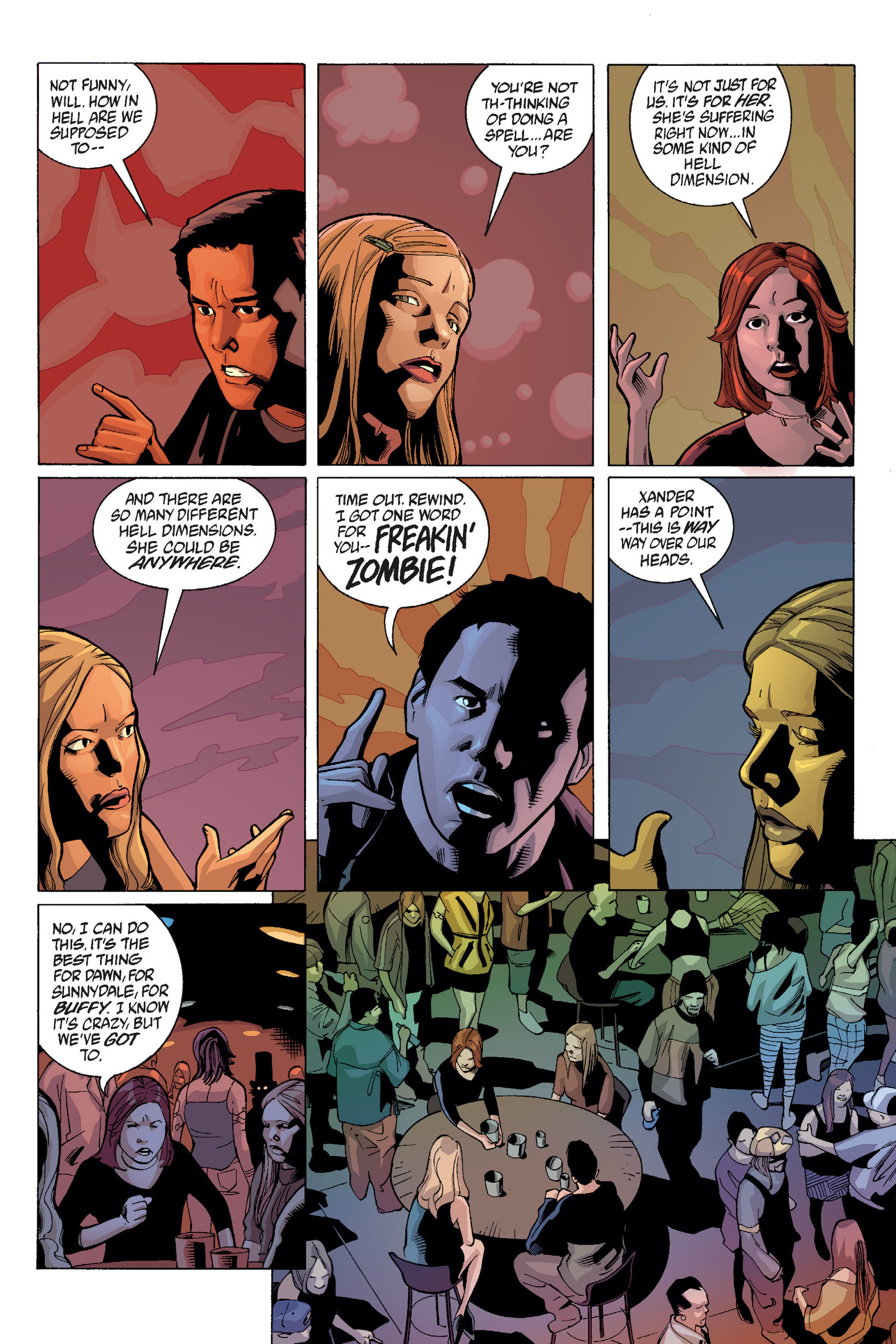 Read online Buffy the Vampire Slayer: Omnibus comic -  Issue # TPB 7 - 248