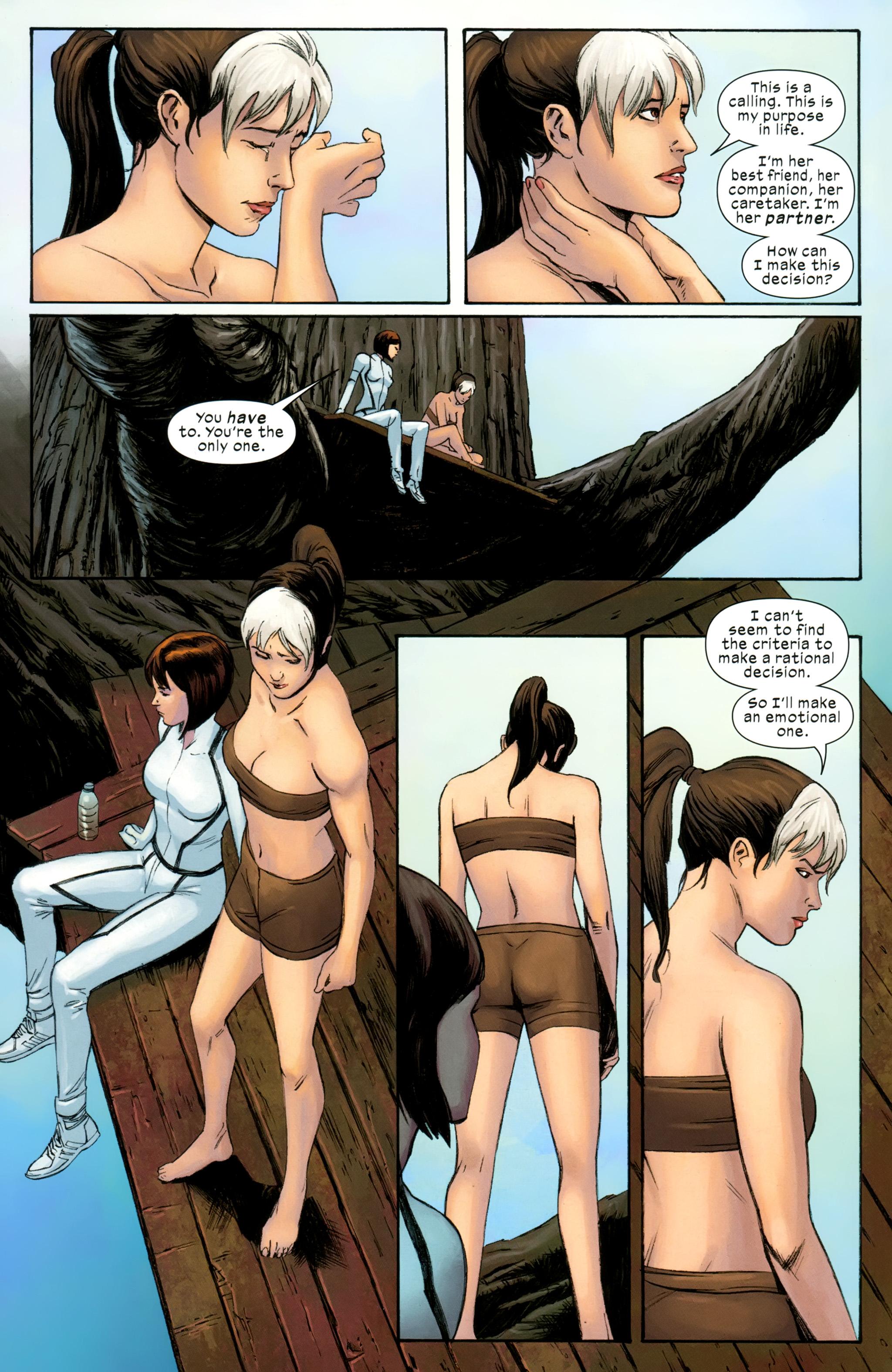 Read online Ultimate Comics X-Men comic -  Issue #31 - 12
