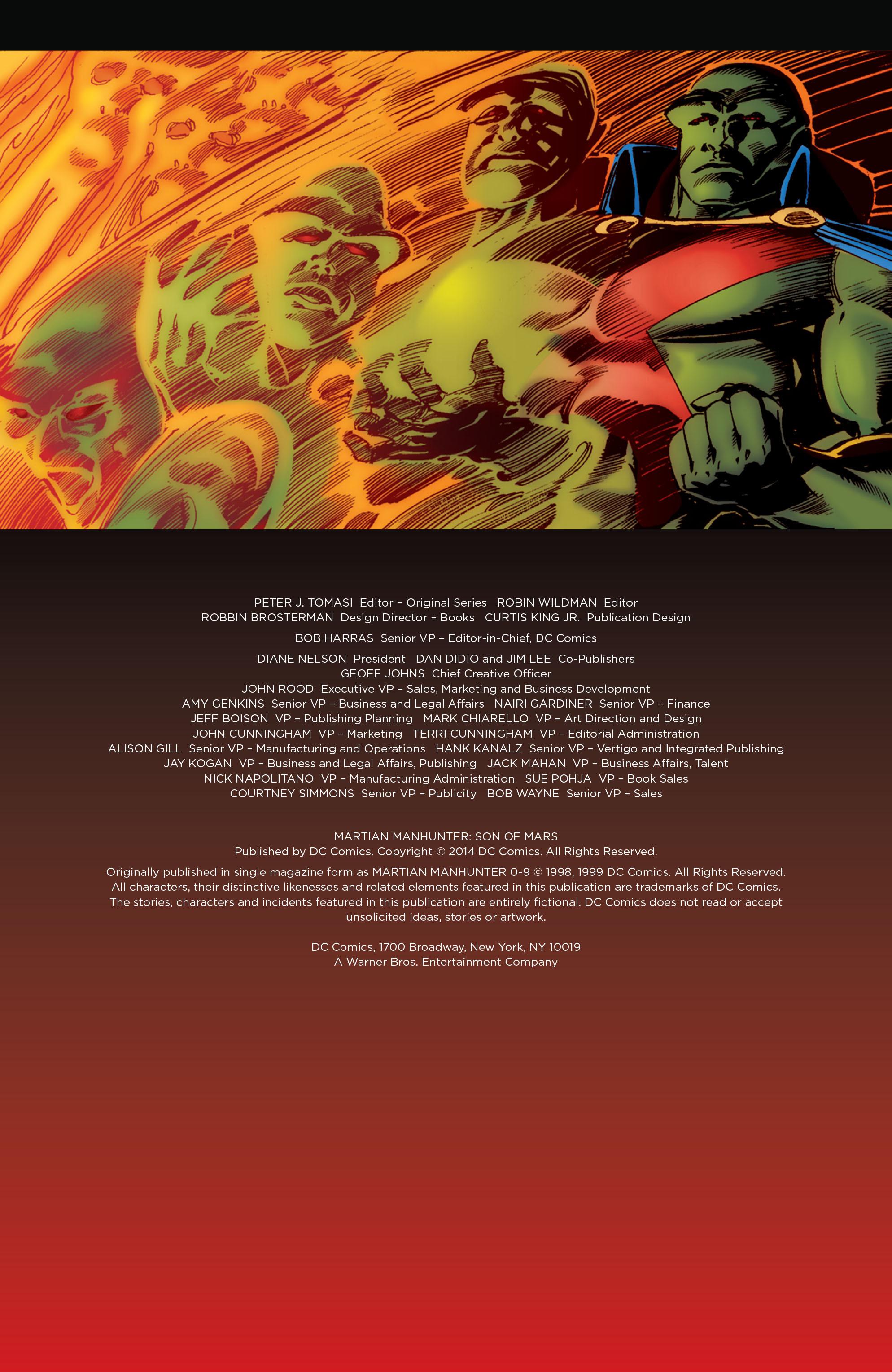 Read online Martian Manhunter: Son of Mars comic -  Issue # TPB - 5