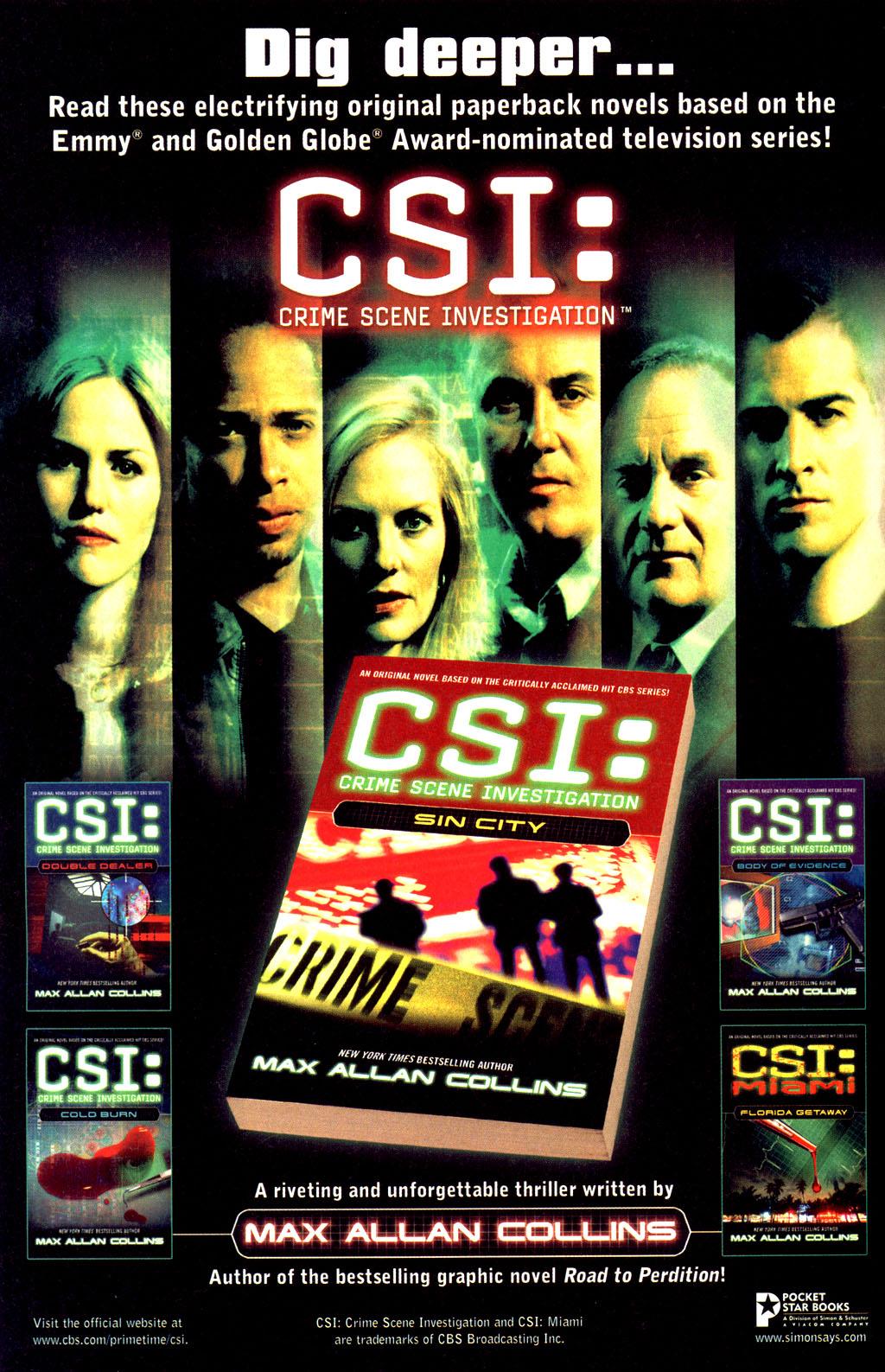 Read online CSI: Crime Scene Investigation: Bad Rap comic -  Issue #2 - 28
