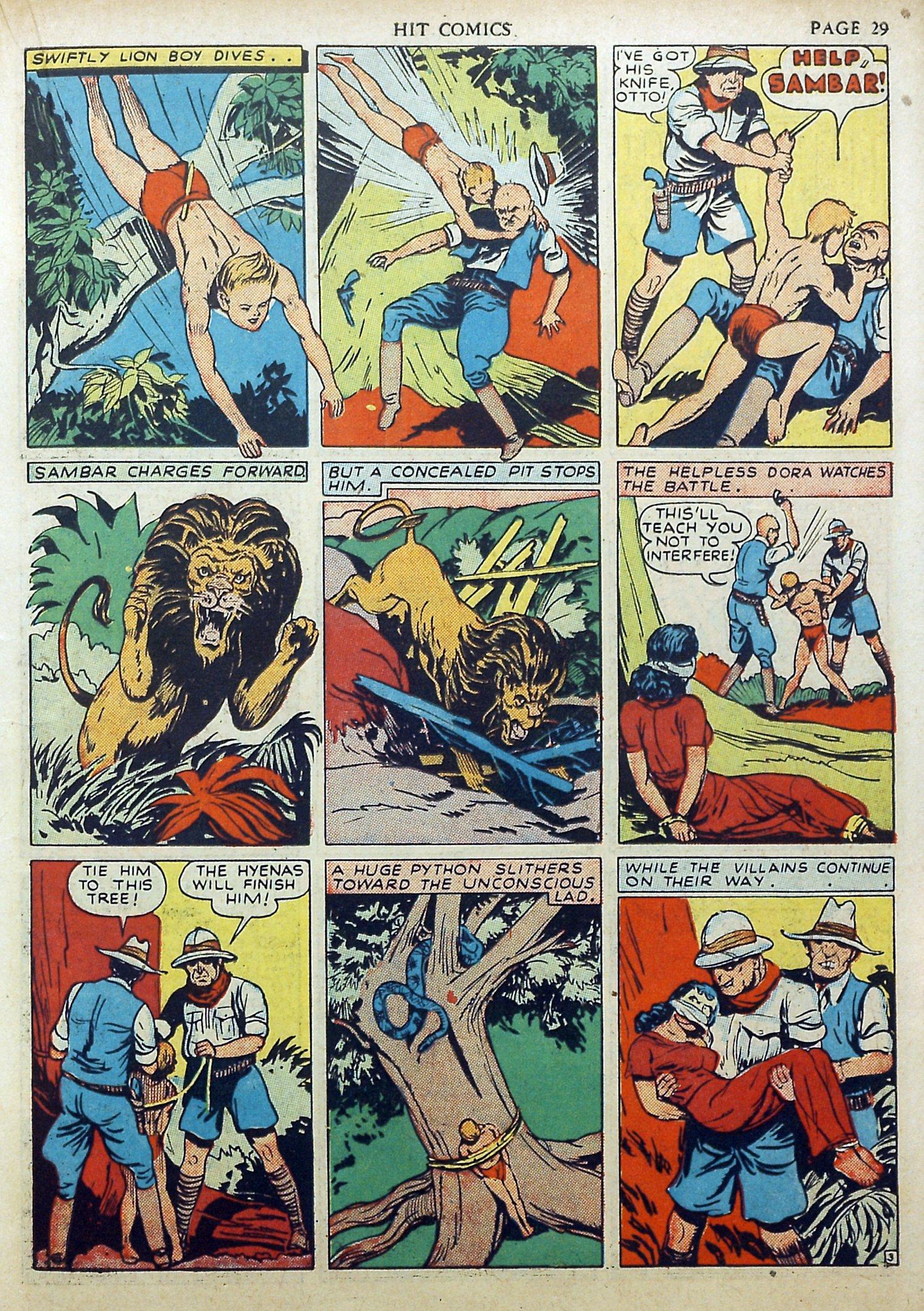 Read online Hit Comics comic -  Issue #17 - 31