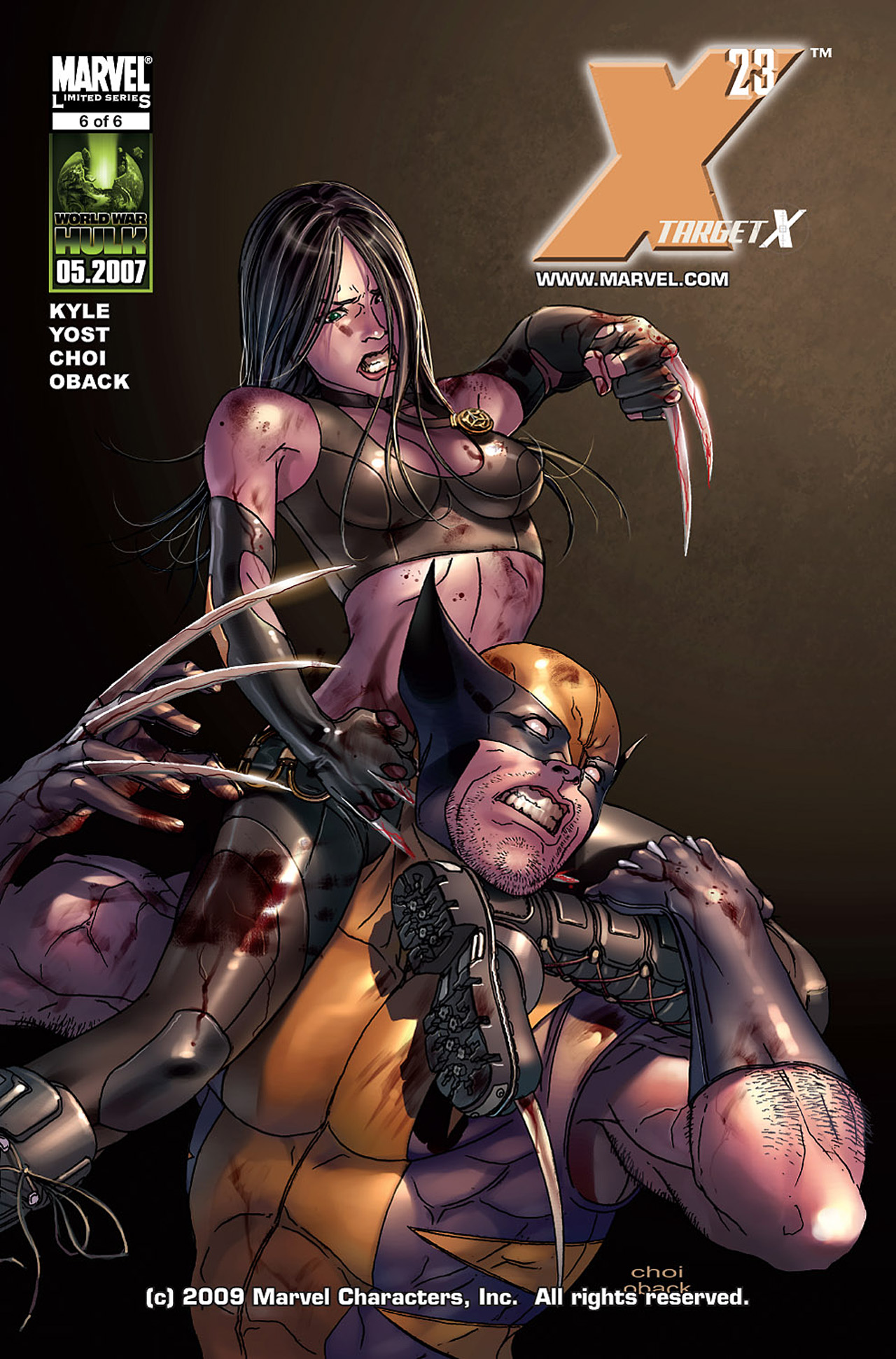 X-23: Target X 6 Page 1