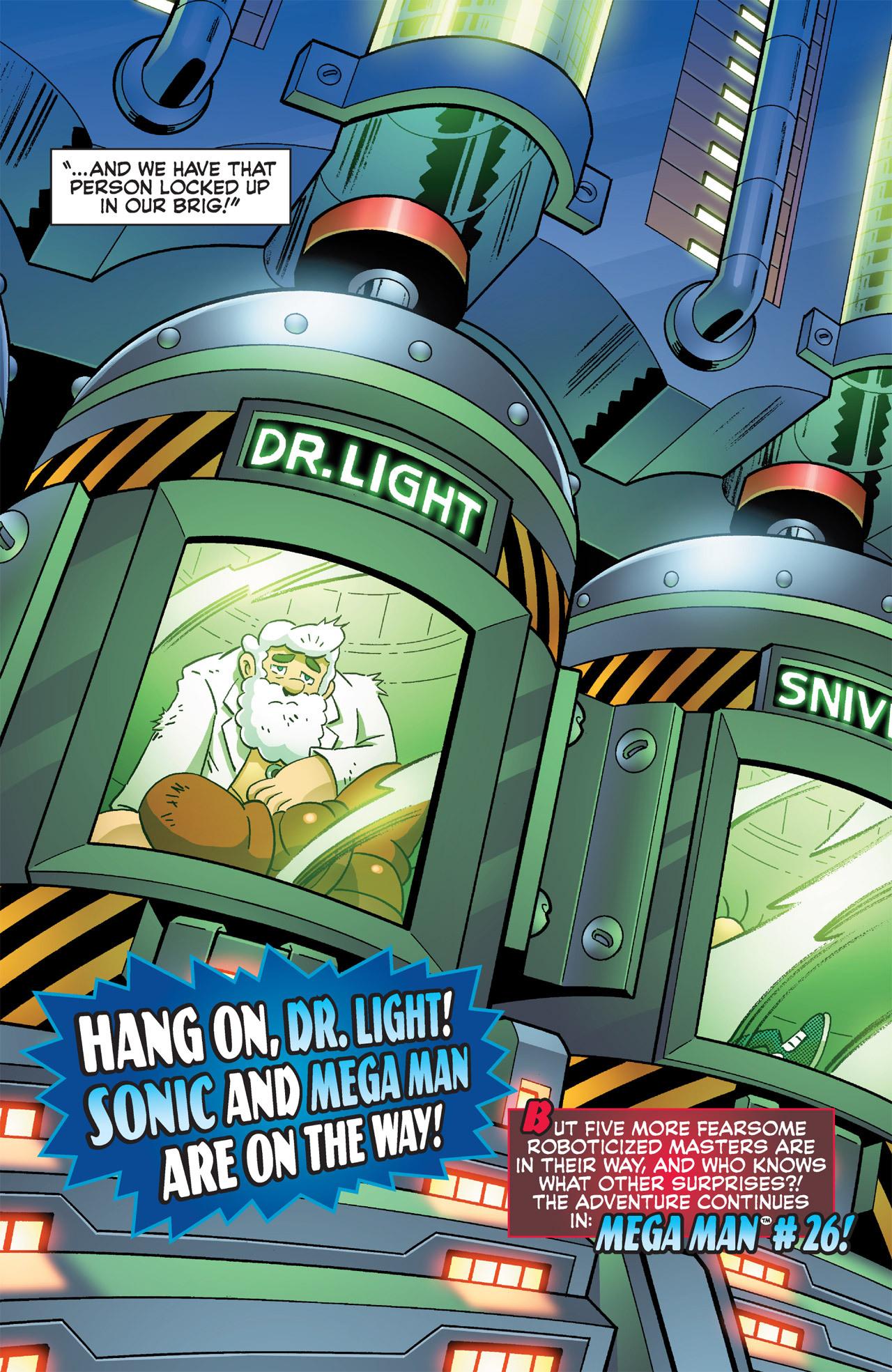 Read online Sonic Mega Man Worlds Collide comic -  Issue # Vol 2 - 54
