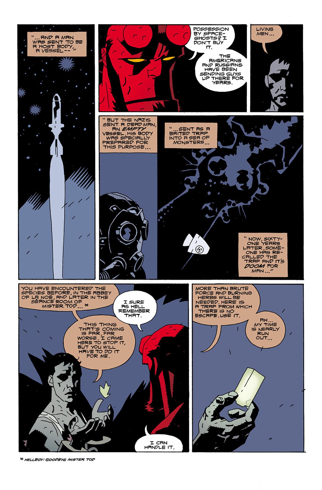 Read online Hellboy: Conqueror Worm comic -  Issue #2 - 27