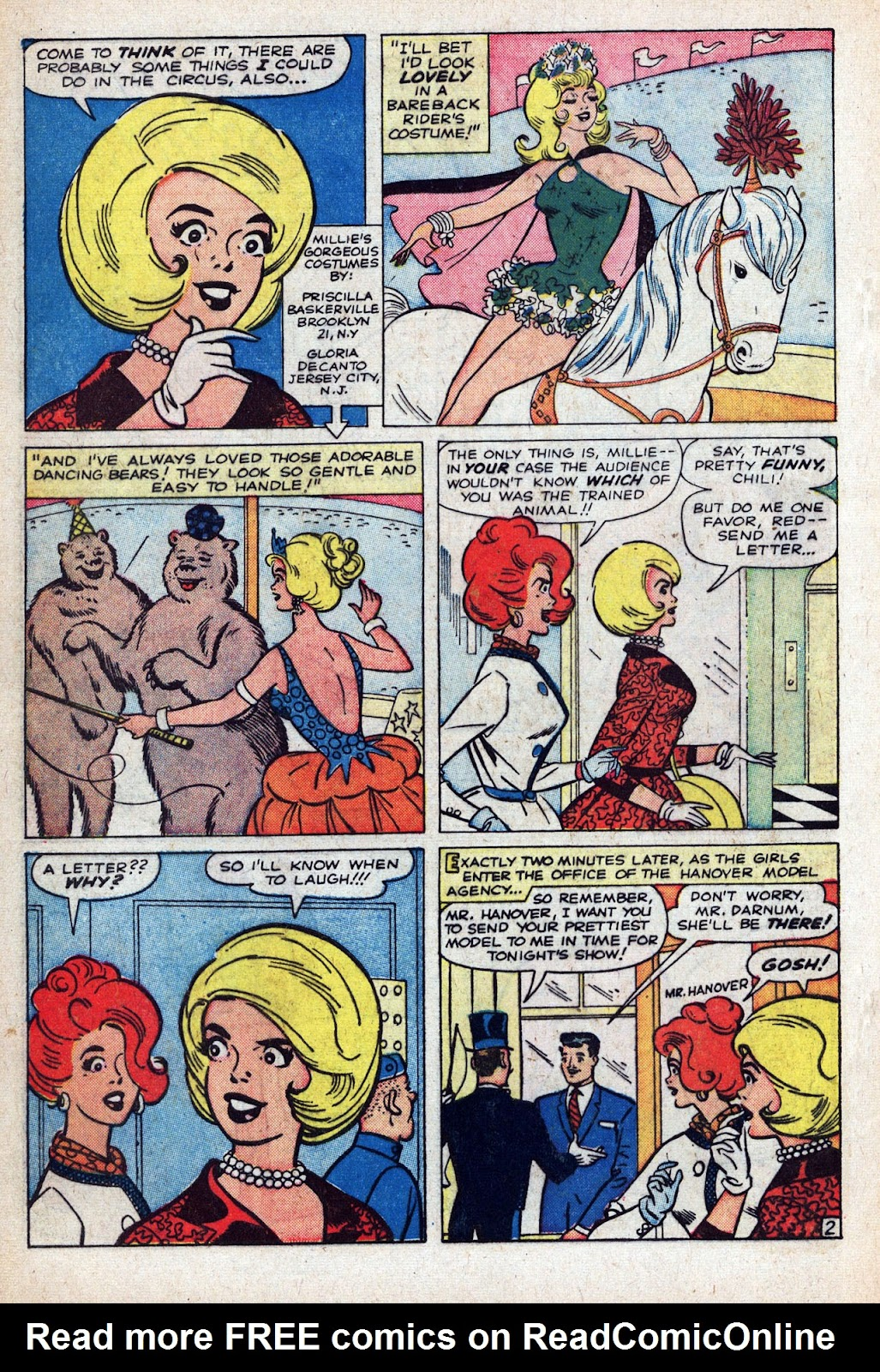 Read online Millie the Model comic -  Issue # Annual 1 - 58