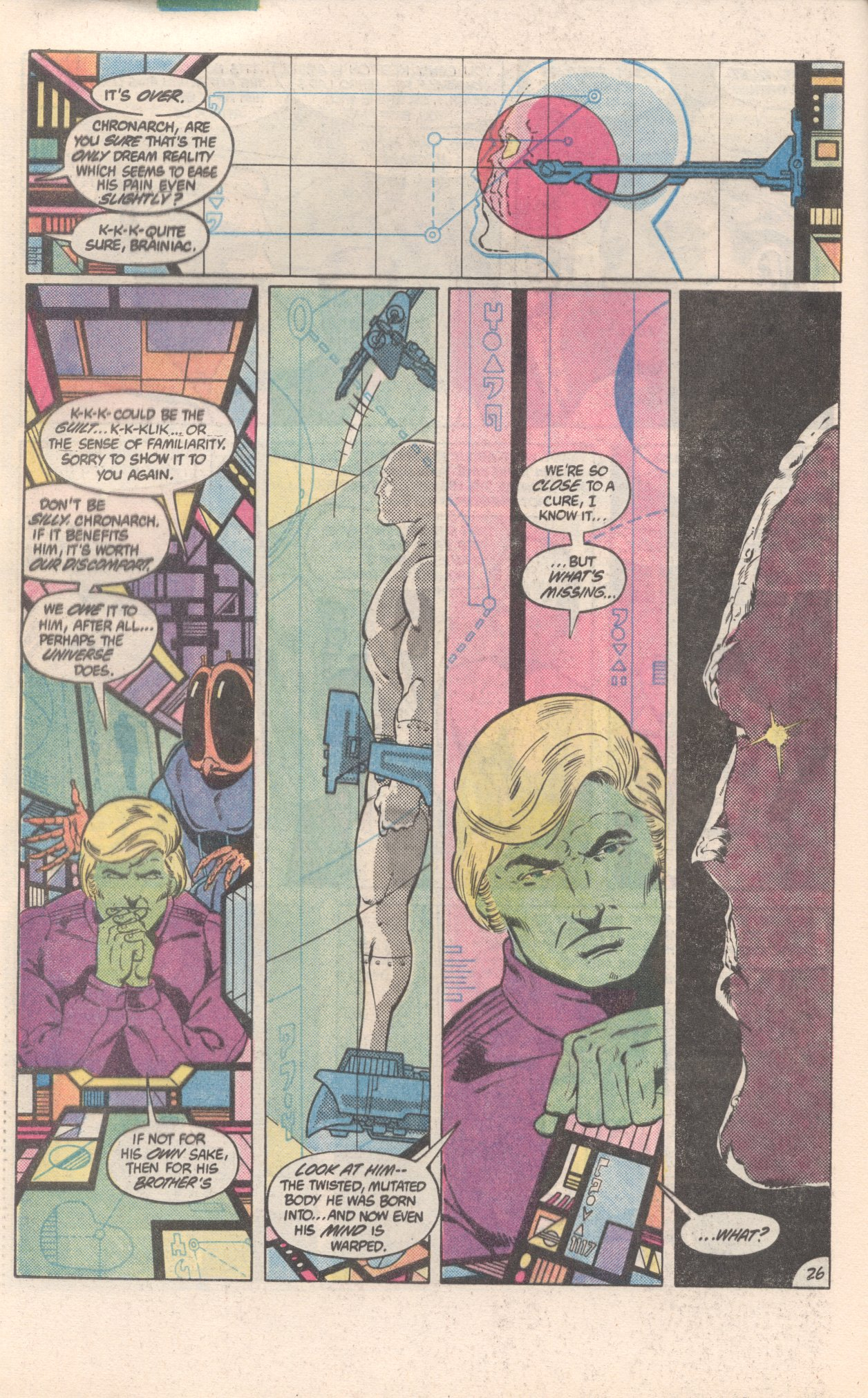 Legion of Super-Heroes (1980) 300 Page 26