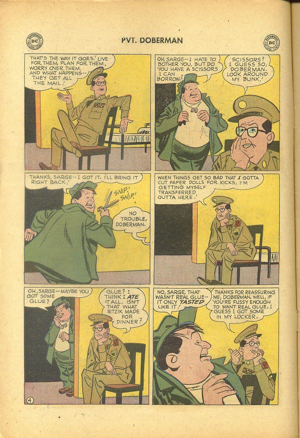 Sgt. Bilko's Pvt. Doberman issue 1 - Page 6