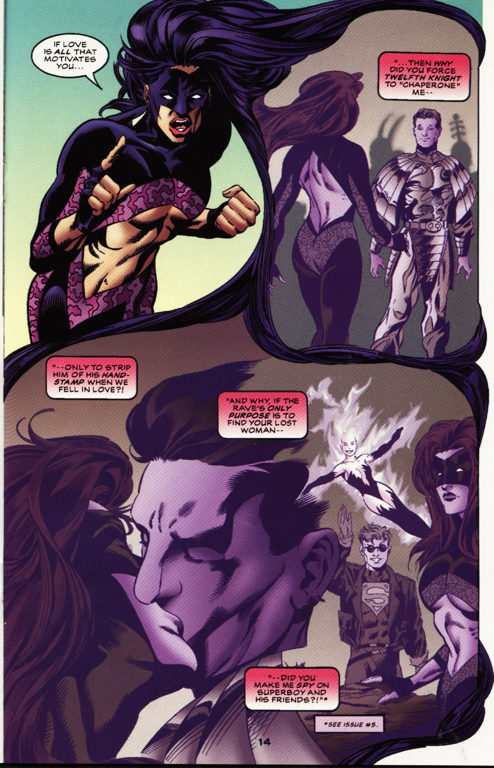 Read online Superboy & The Ravers comic -  Issue #12 - 15