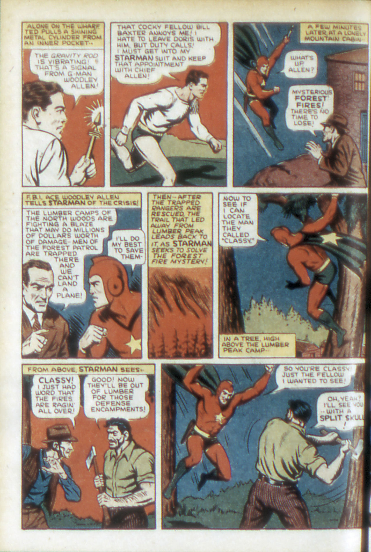 Read online Adventure Comics (1938) comic -  Issue #68 - 9