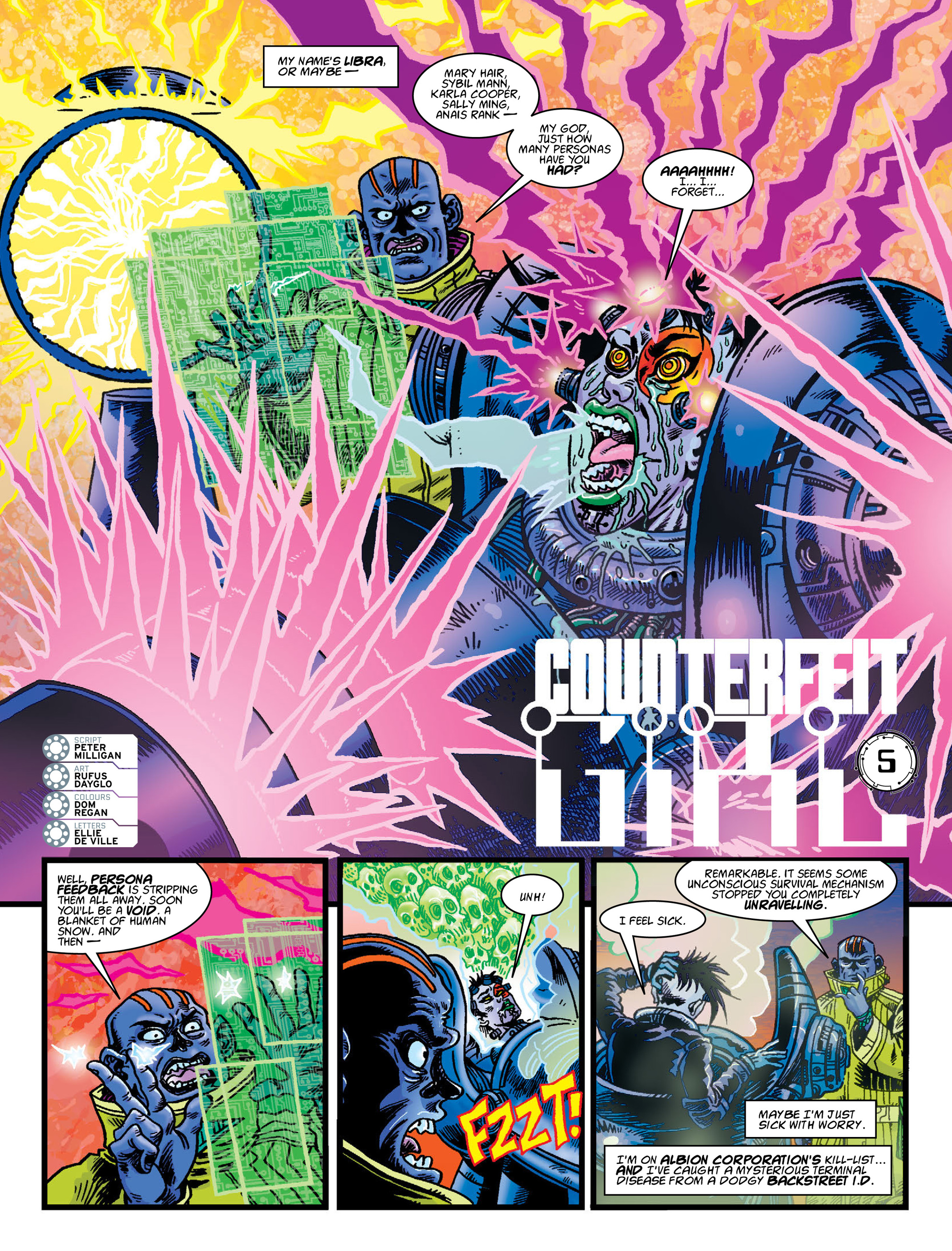 Read online 2000 AD comic -  Issue #2004 - 23