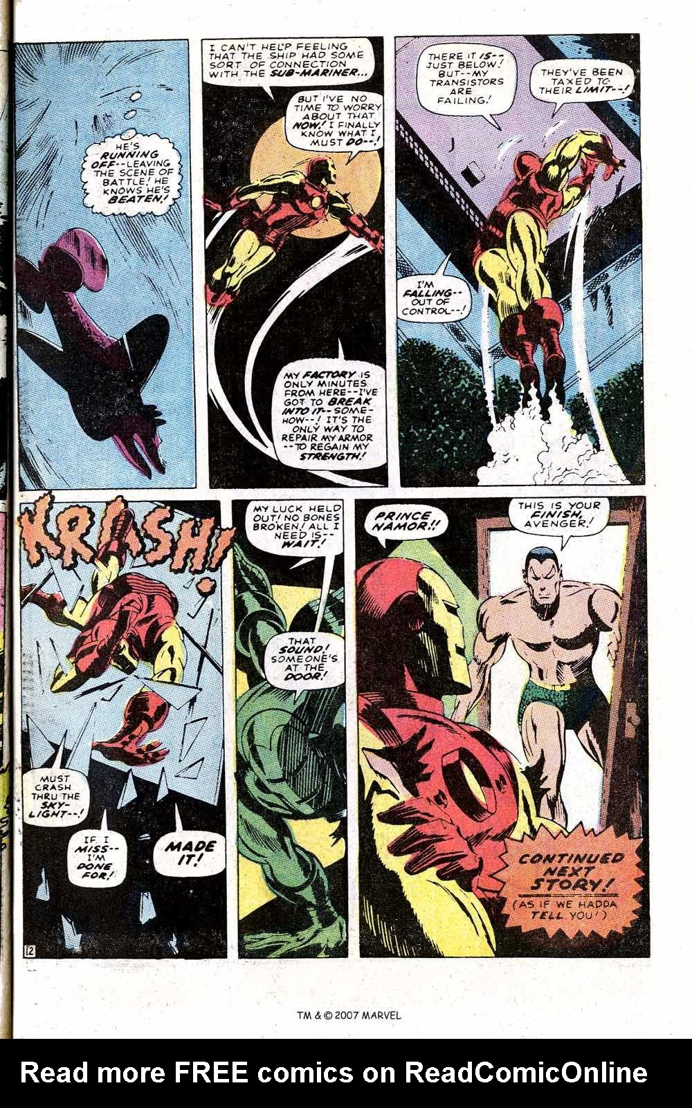 Iron Man Annual issue 1 - Page 33