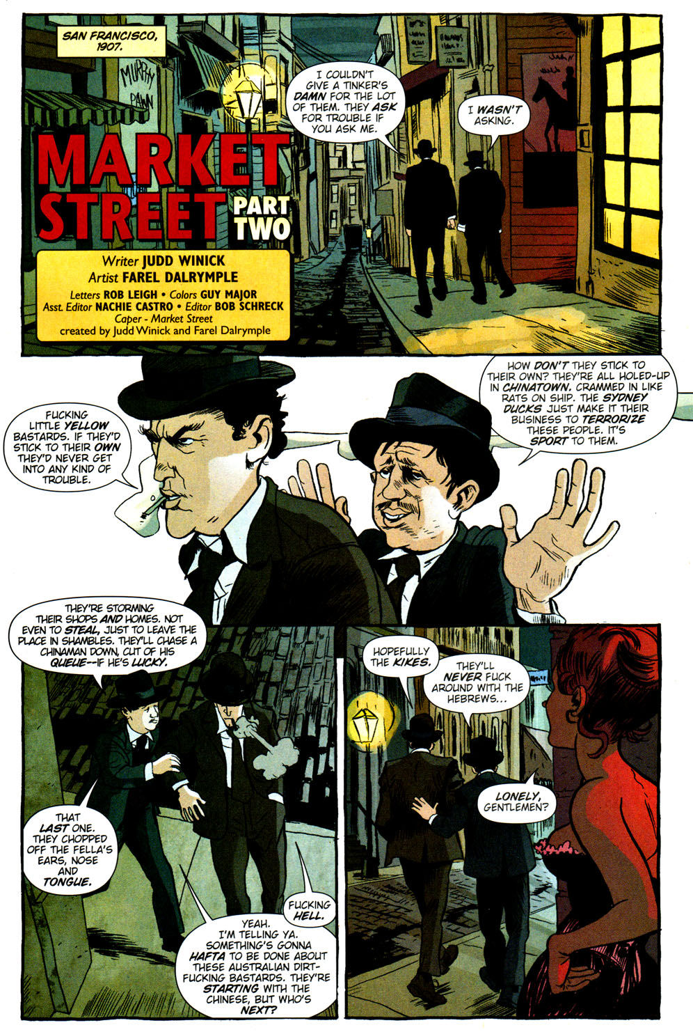Read online Caper comic -  Issue #2 - 2