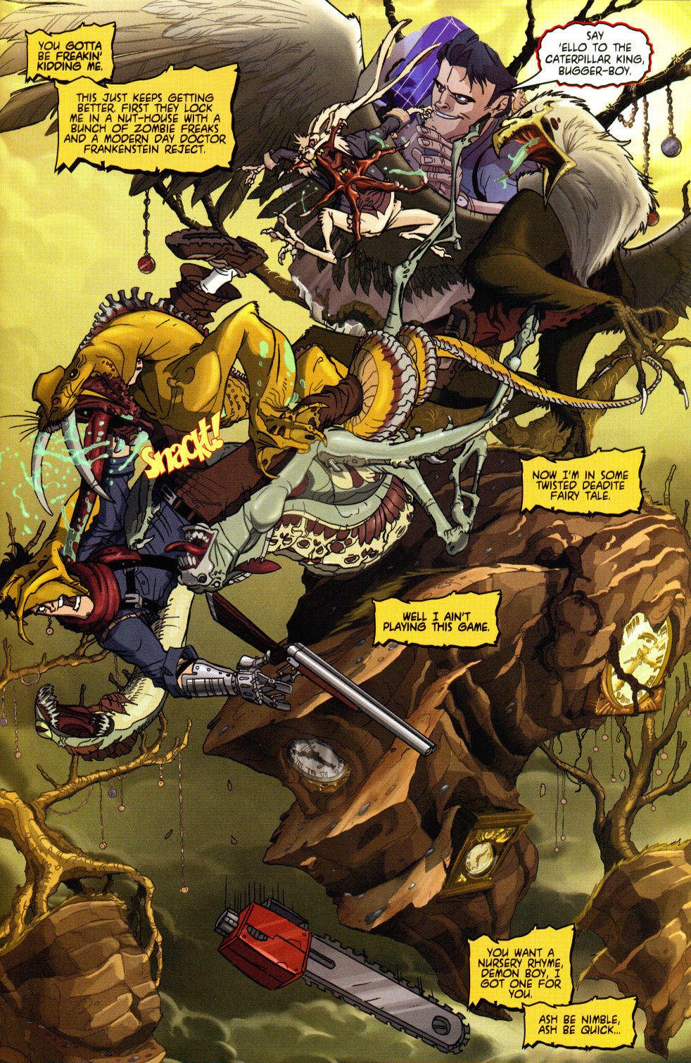 Read online Army of Darkness vs. Re-Animator comic -  Issue #3 - 5