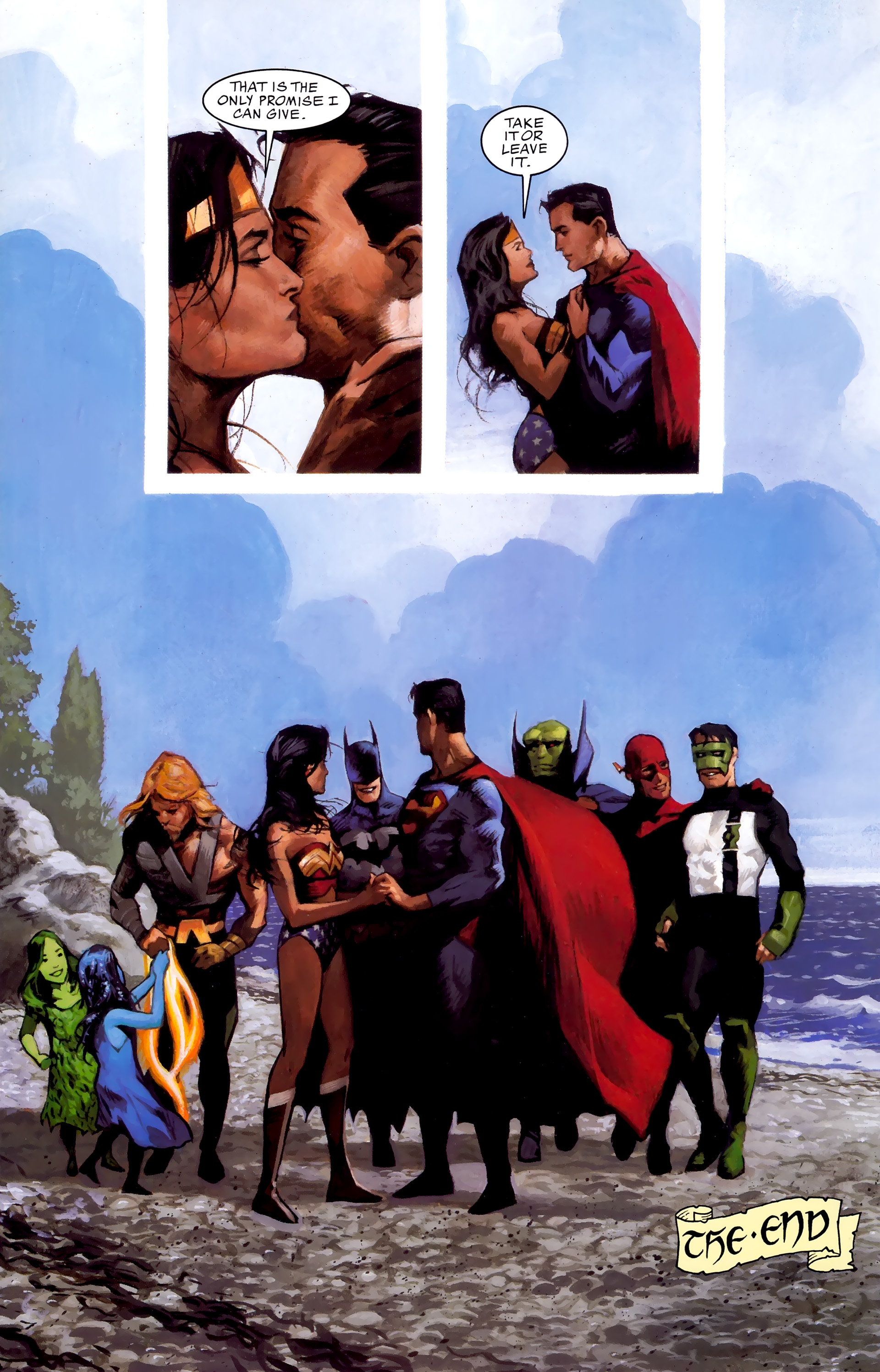 Read online JLA: A League of One comic -  Issue # Full - 107