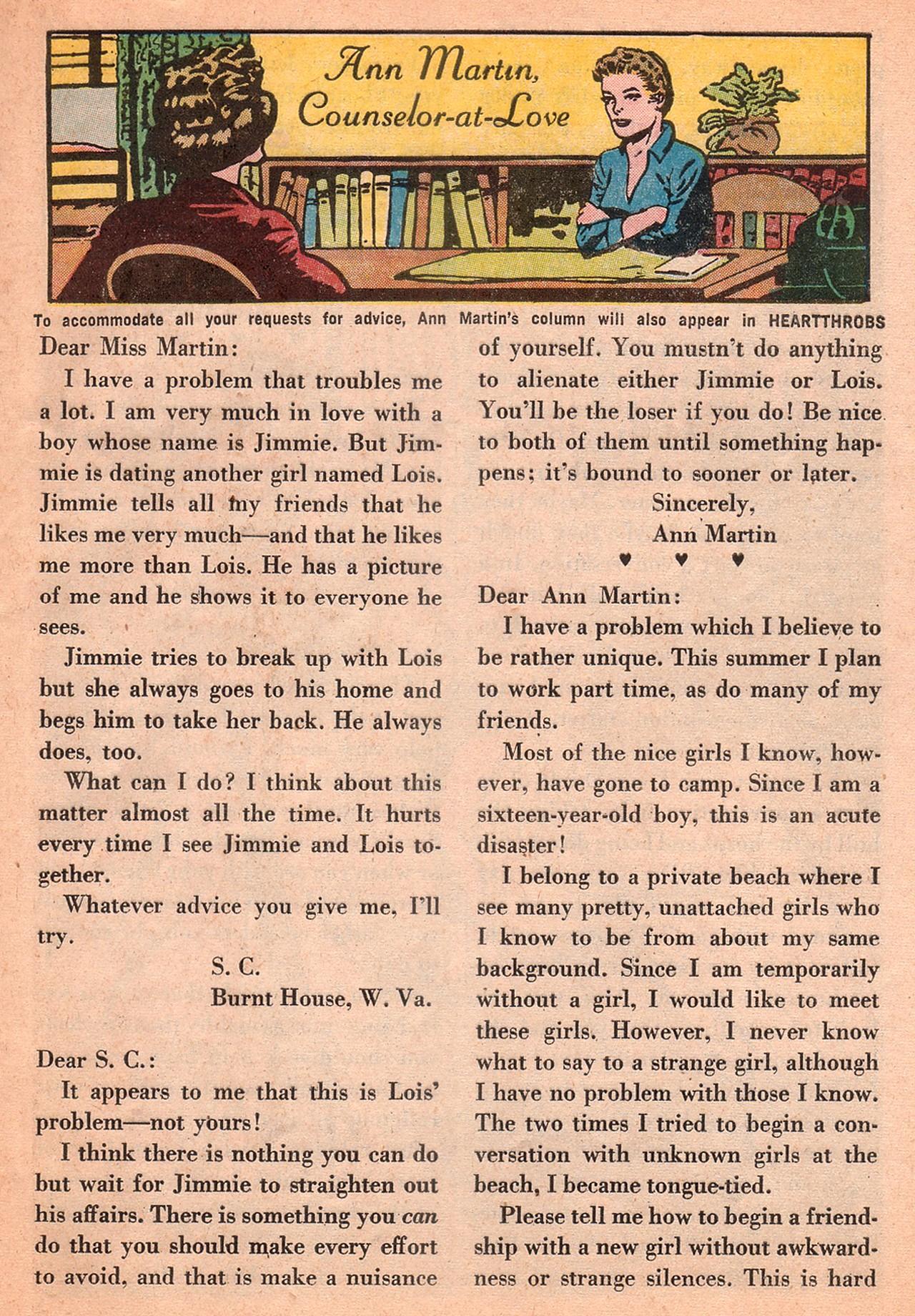 Read online Secret Hearts comic -  Issue #77 - 25