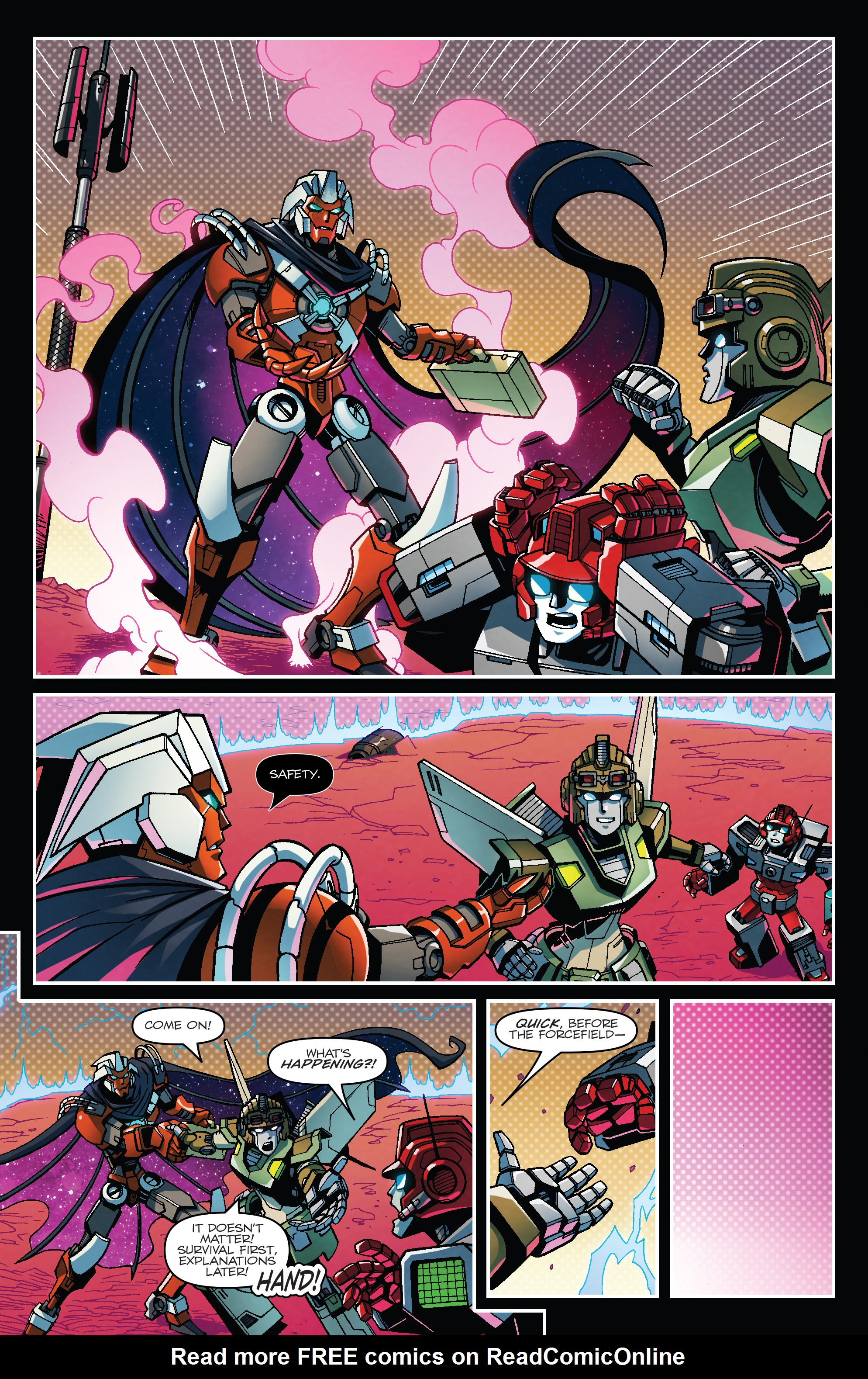 Read online Transformers: Lost Light comic -  Issue #1 - 6