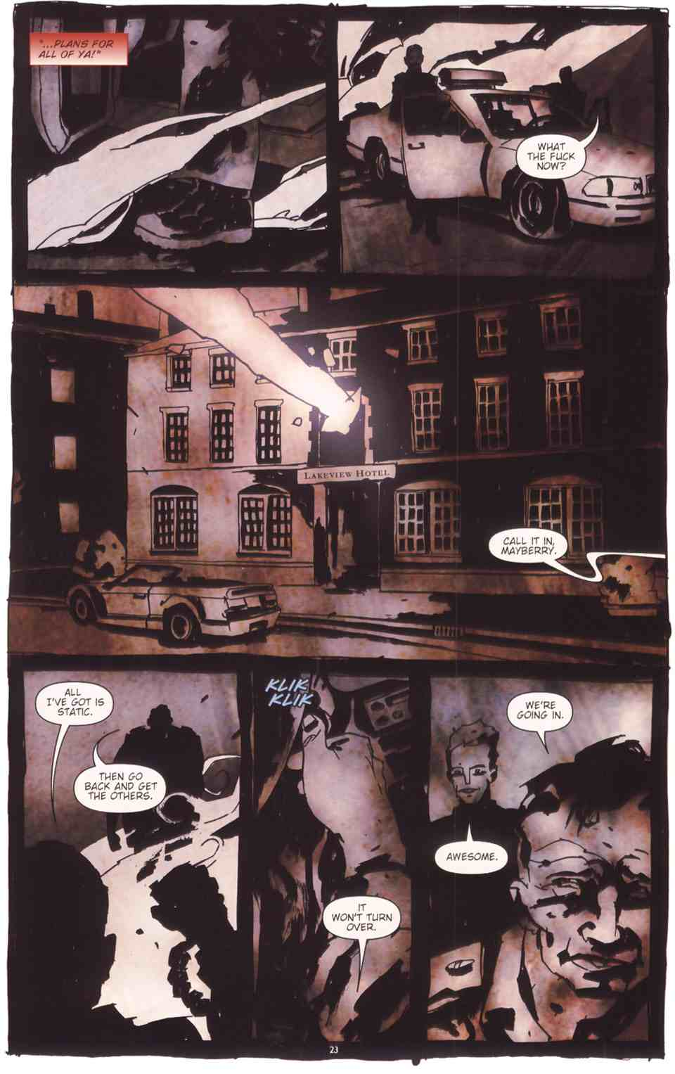 Read online Silent Hill: The Grinning Man comic -  Issue # Full - 25