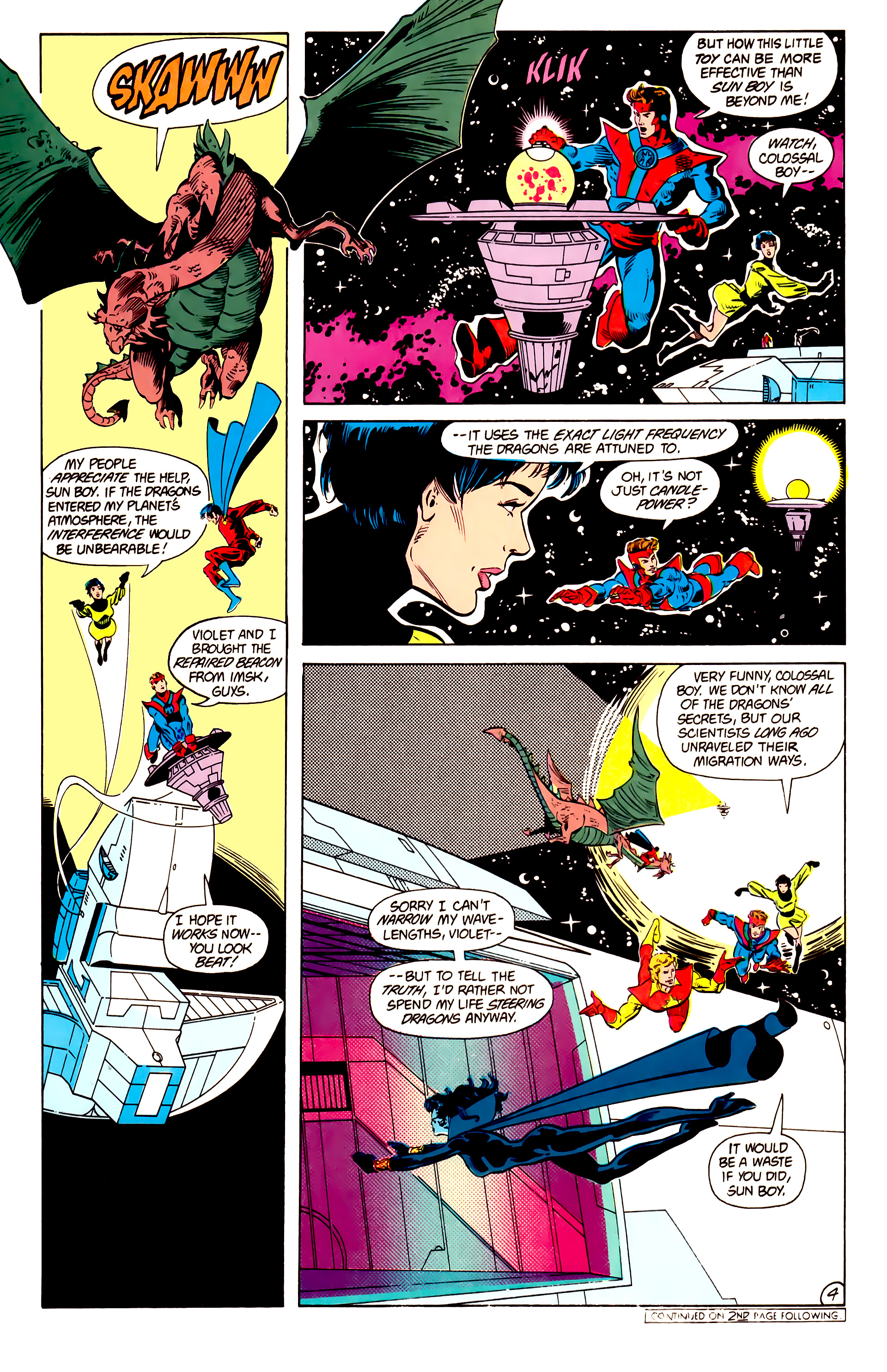 Legion of Super-Heroes (1984) 15 Page 5
