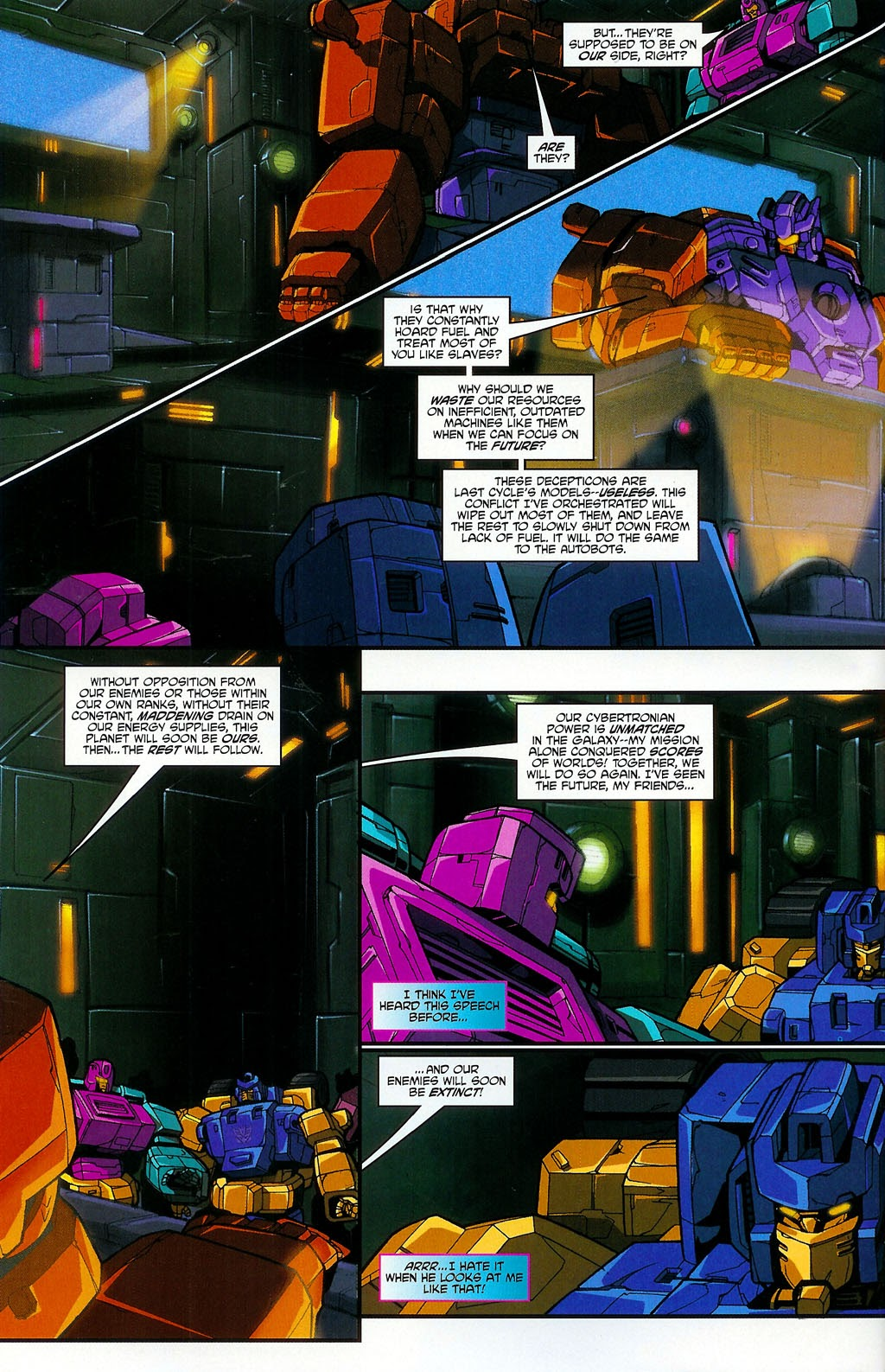 Read online Transformers: Micromasters comic -  Issue #4 - 8
