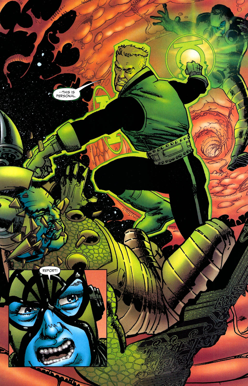 Read online Guy Gardner: Collateral Damage comic -  Issue #2 - 26