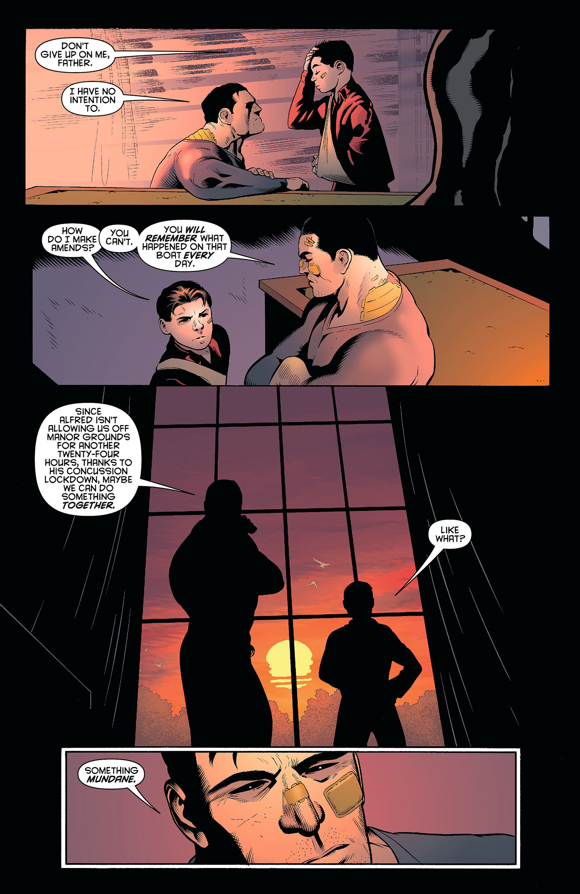 Read online Batman and Robin (2011) comic -  Issue #8 - 17
