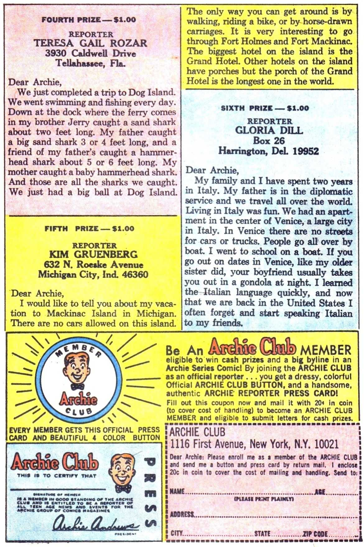 Read online Archie (1960) comic -  Issue #179 - 11