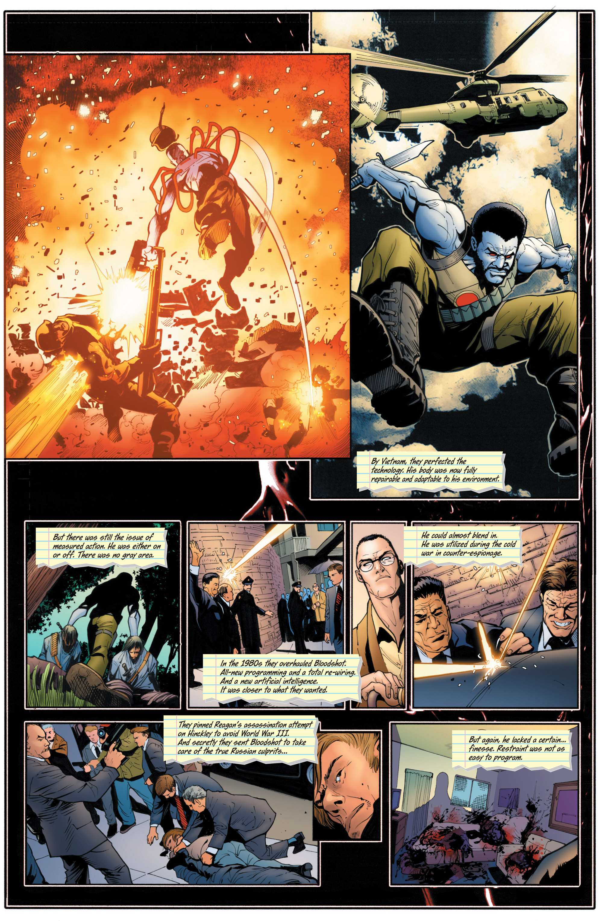 Read online Bloodshot and H.A.R.D.Corps comic -  Issue # TPB 4 - 104
