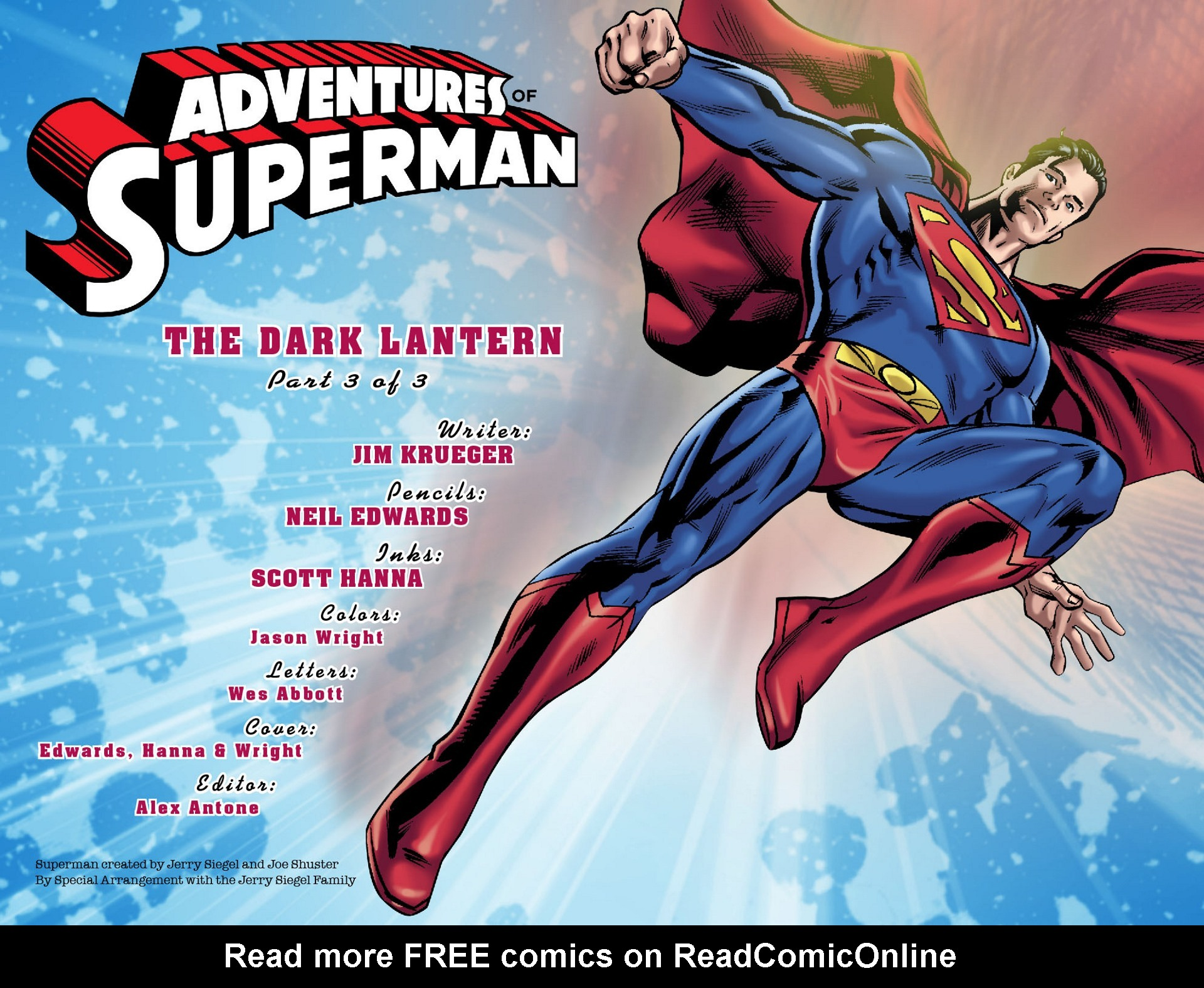 Read online Adventures of Superman [I] comic -  Issue #33 - 2