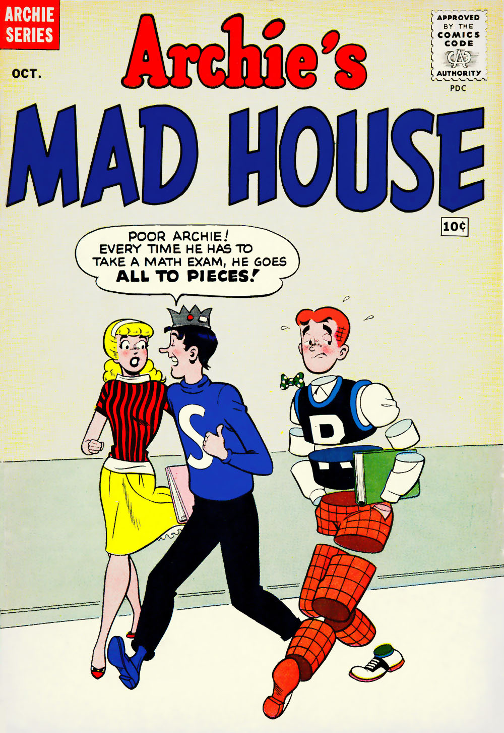 Archie's Madhouse issue 8 - Page 1