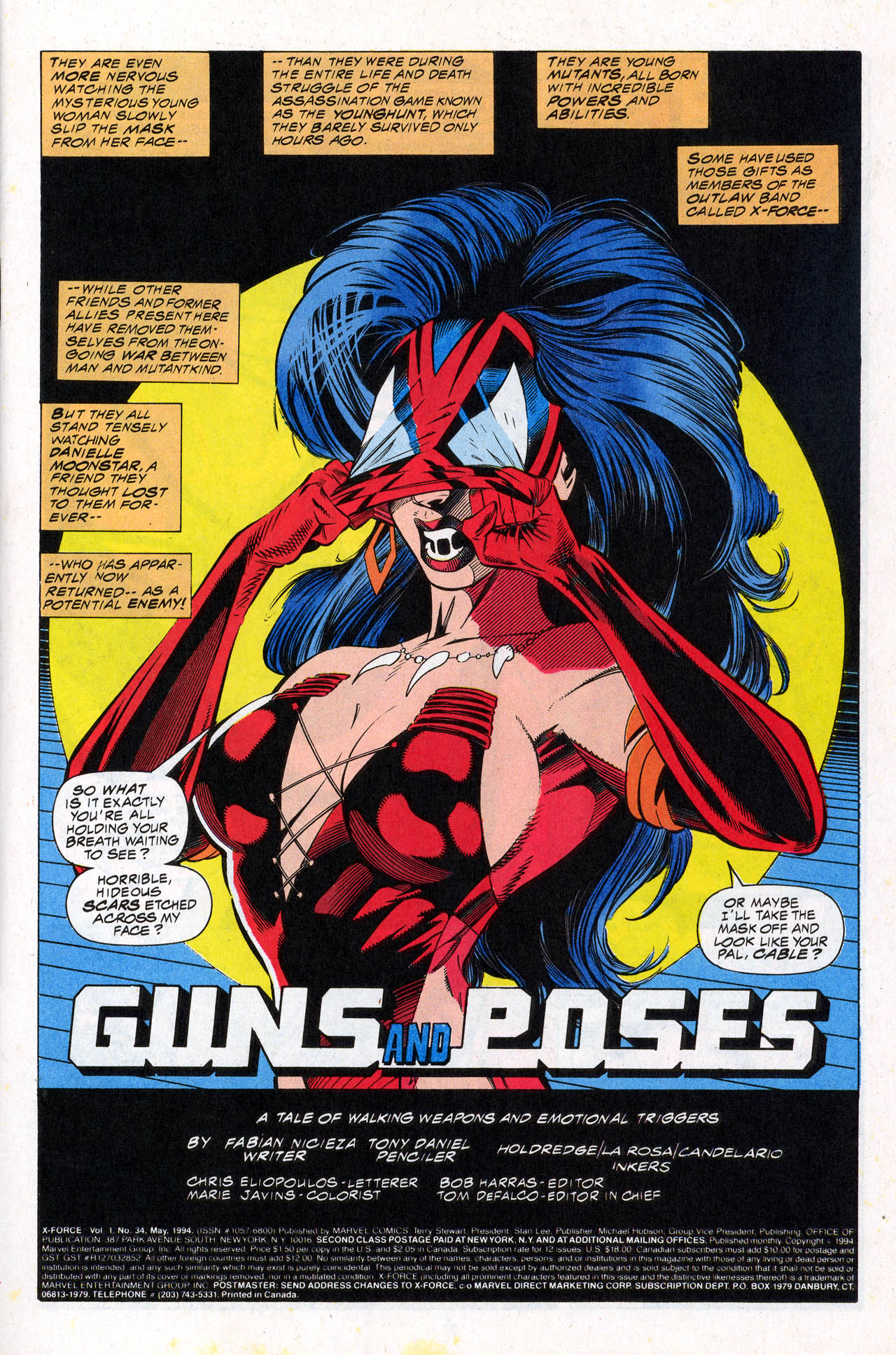 Read online X-Force (1991) comic -  Issue #34 - 3