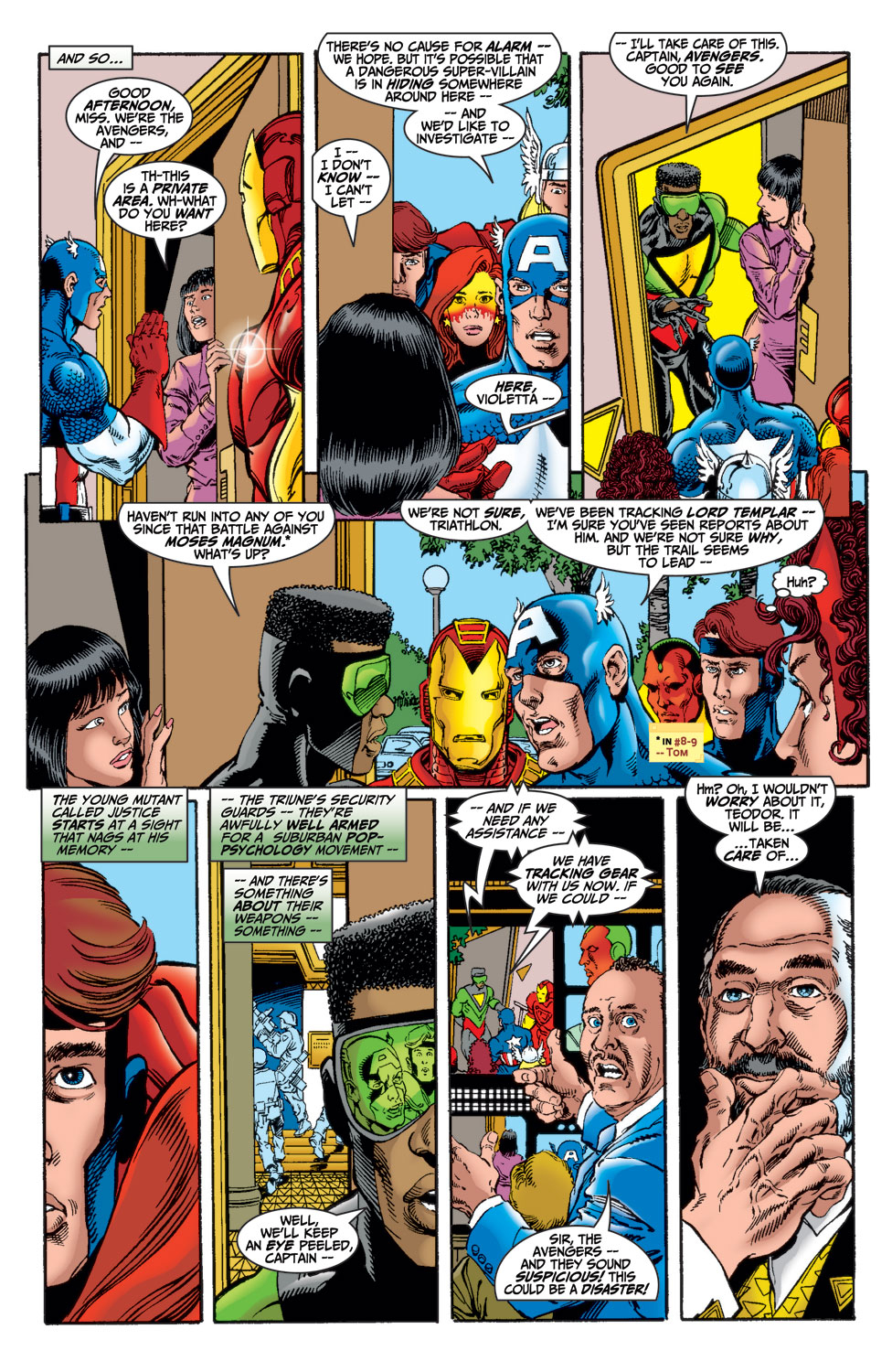 Read online Avengers (1998) comic -  Issue #15 - 10